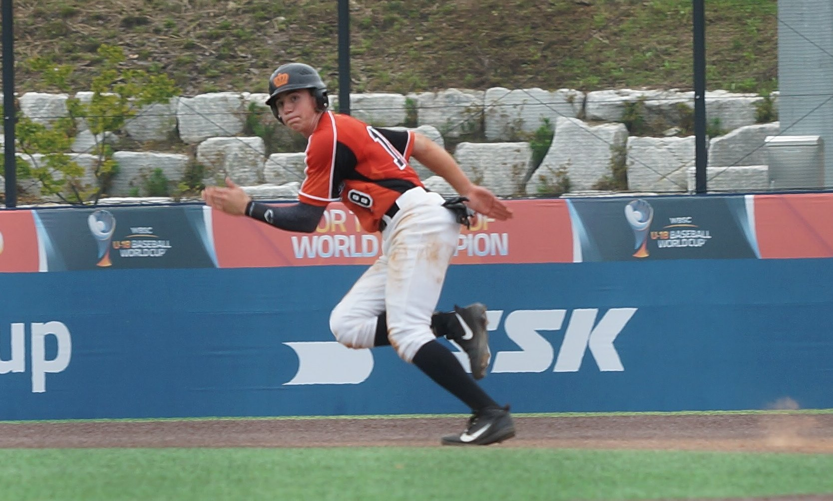 The Netherlands had another RBI by Tyriw Kemp