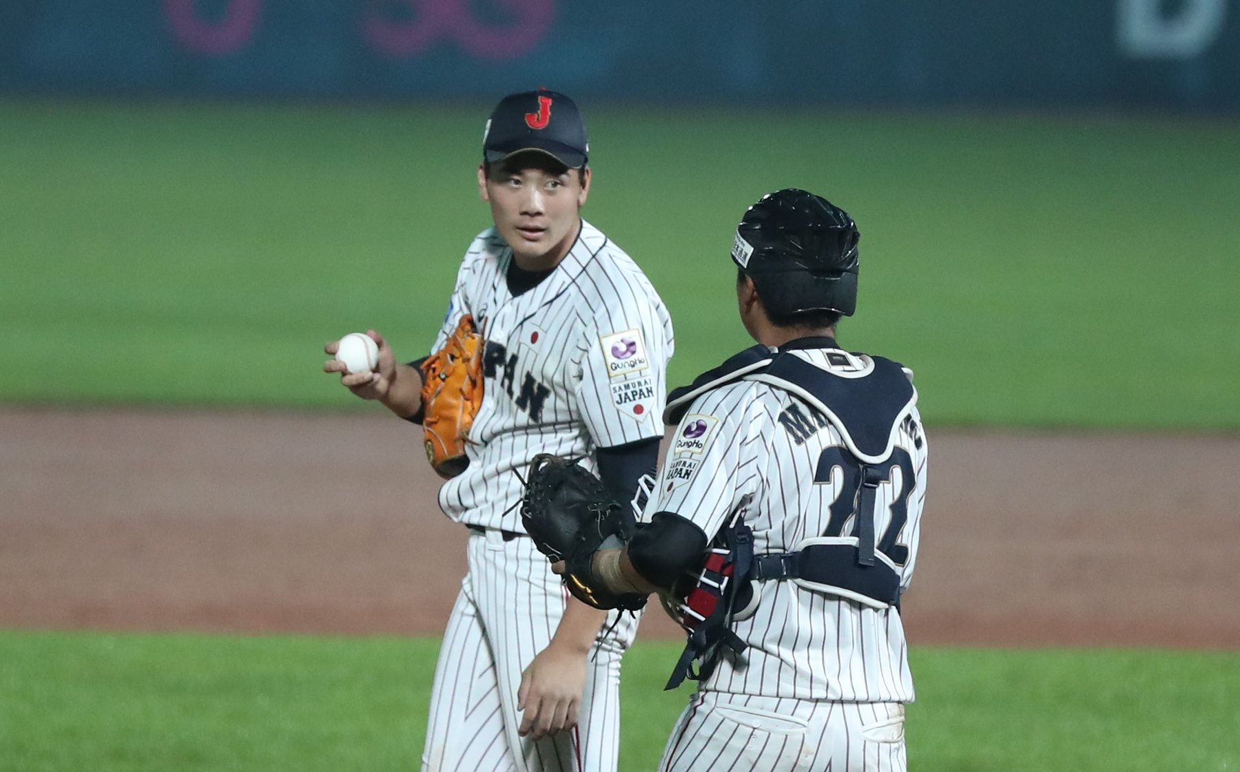 Difficult moment for Japan's pitching staff