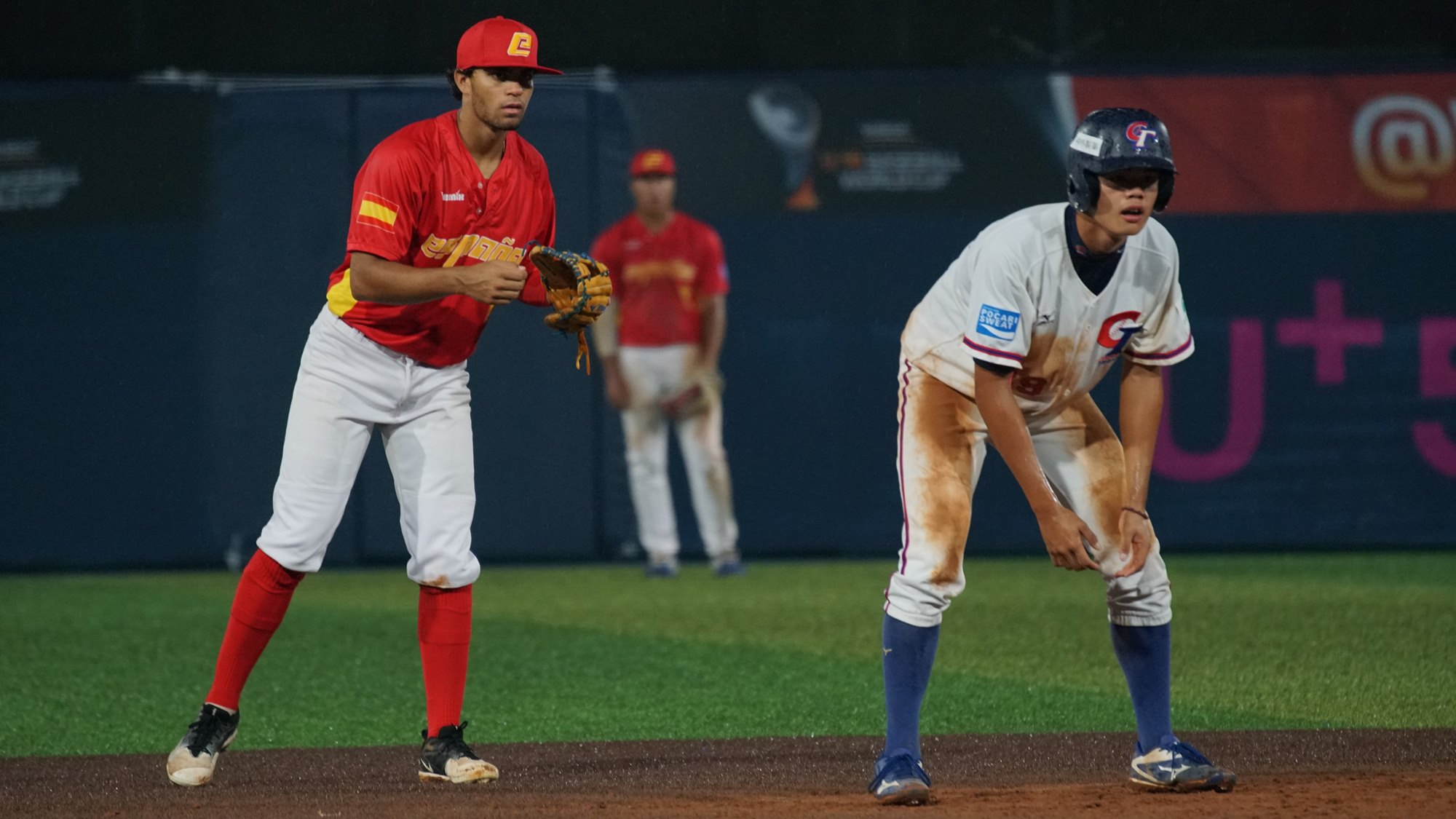 It looked like an easy night for Chinese Taipei