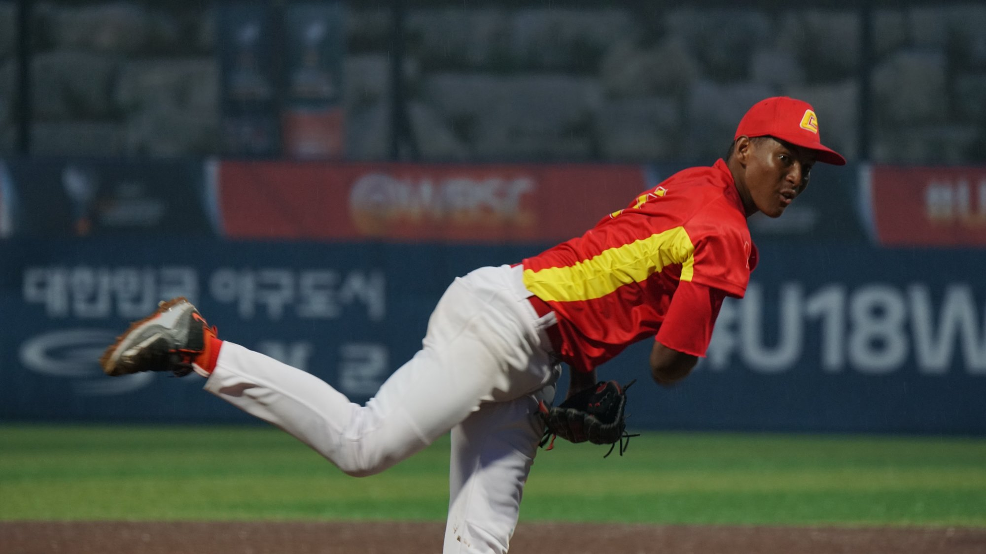 Chinese Taipei took the lead against Delson Guzman
