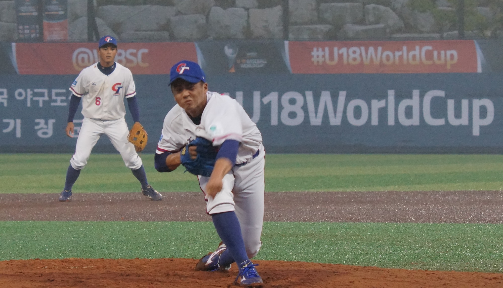 Wang Ya Cheng won't allow Japan another run