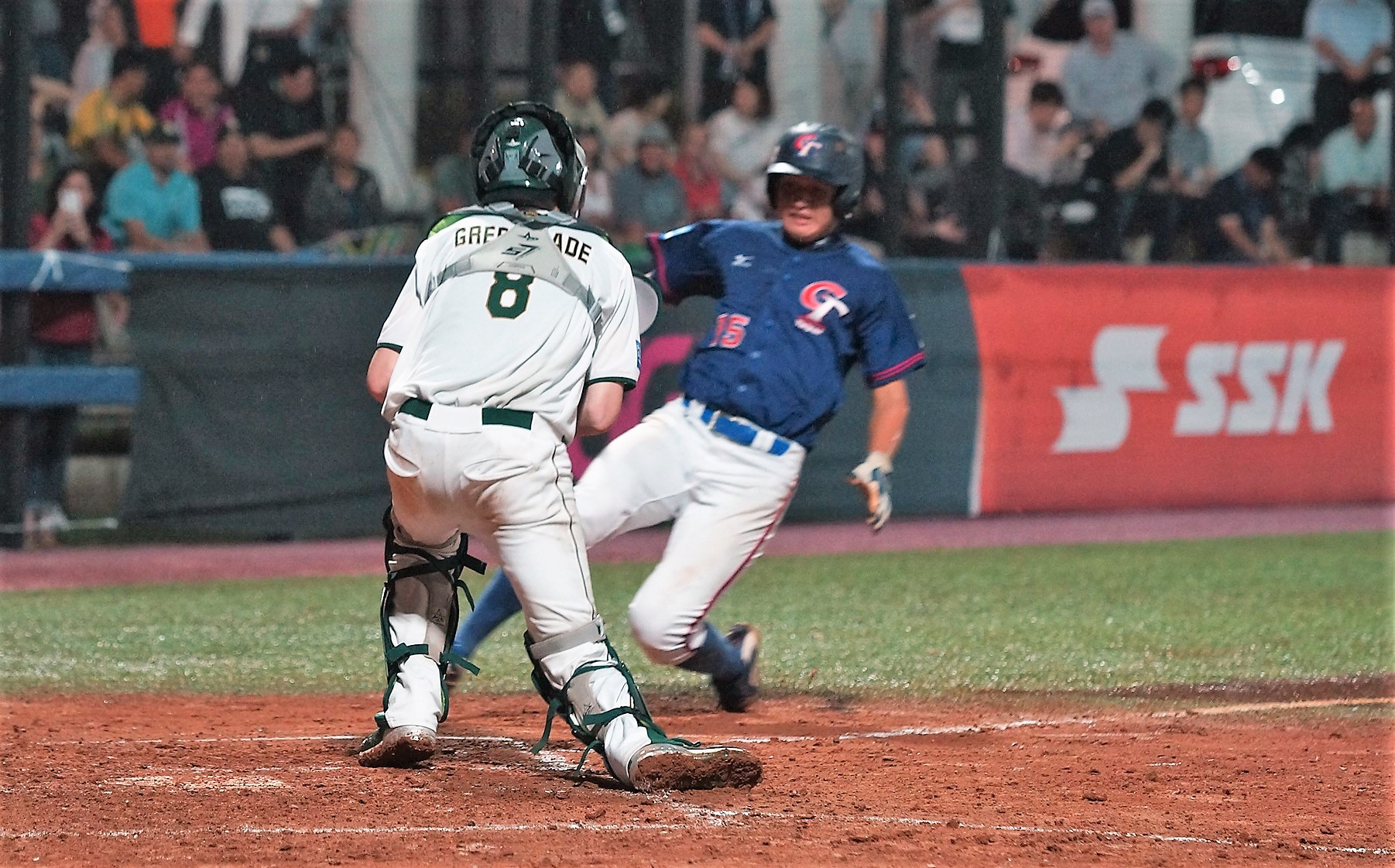 Chinese Taipei even lost a runner at home