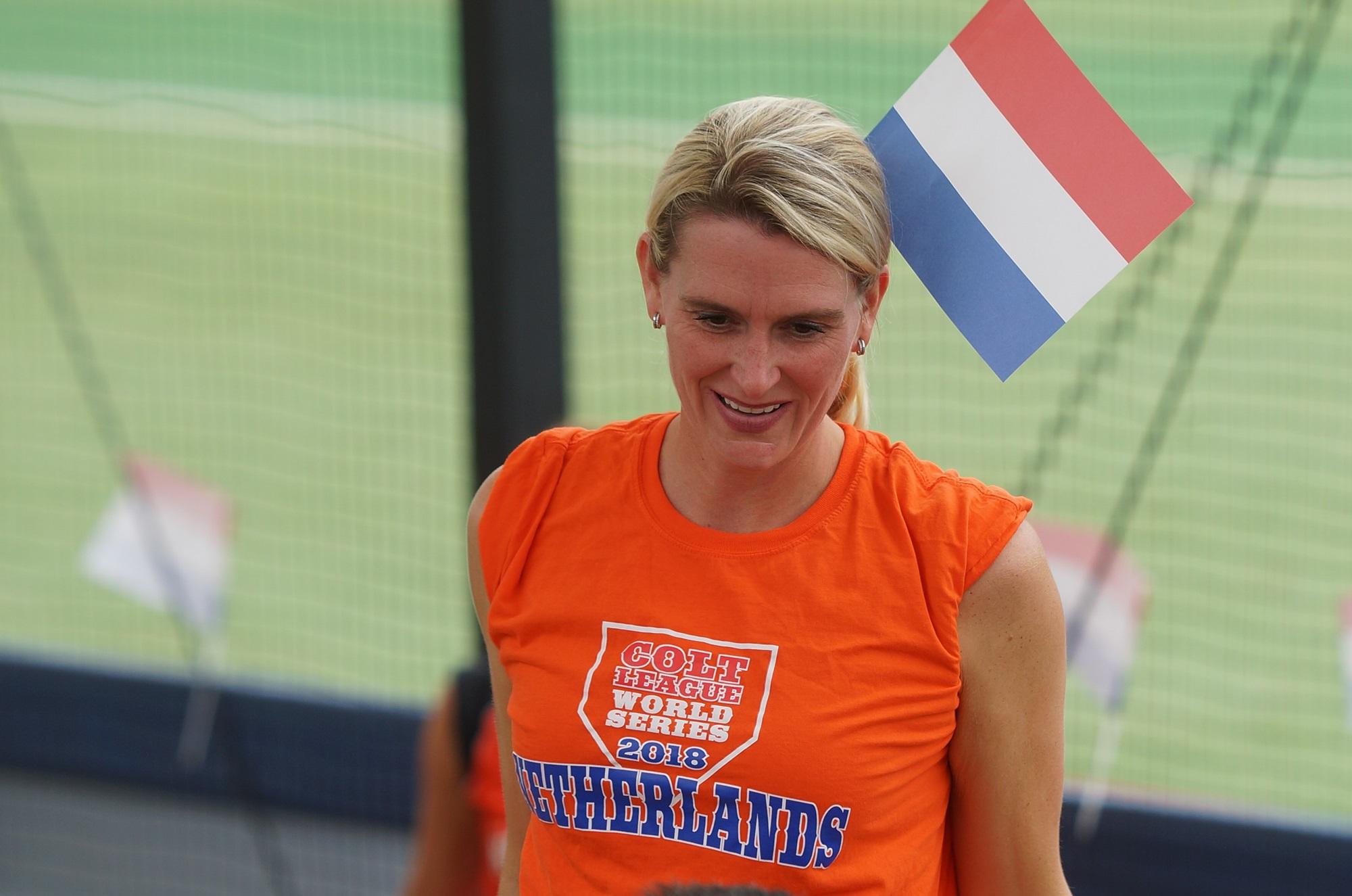 Dutch fans always colourful