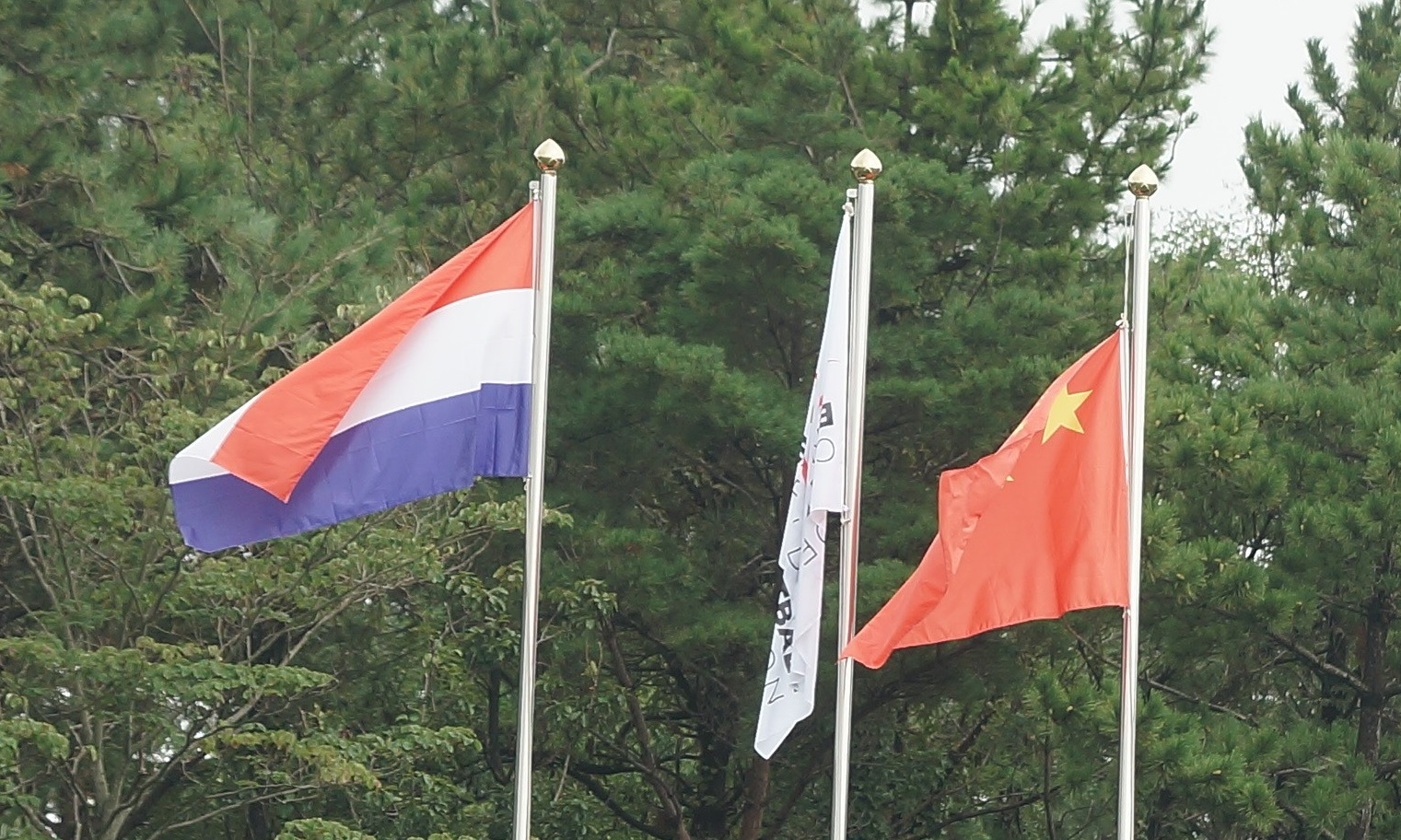 Netherlands and China take the field in Gijang