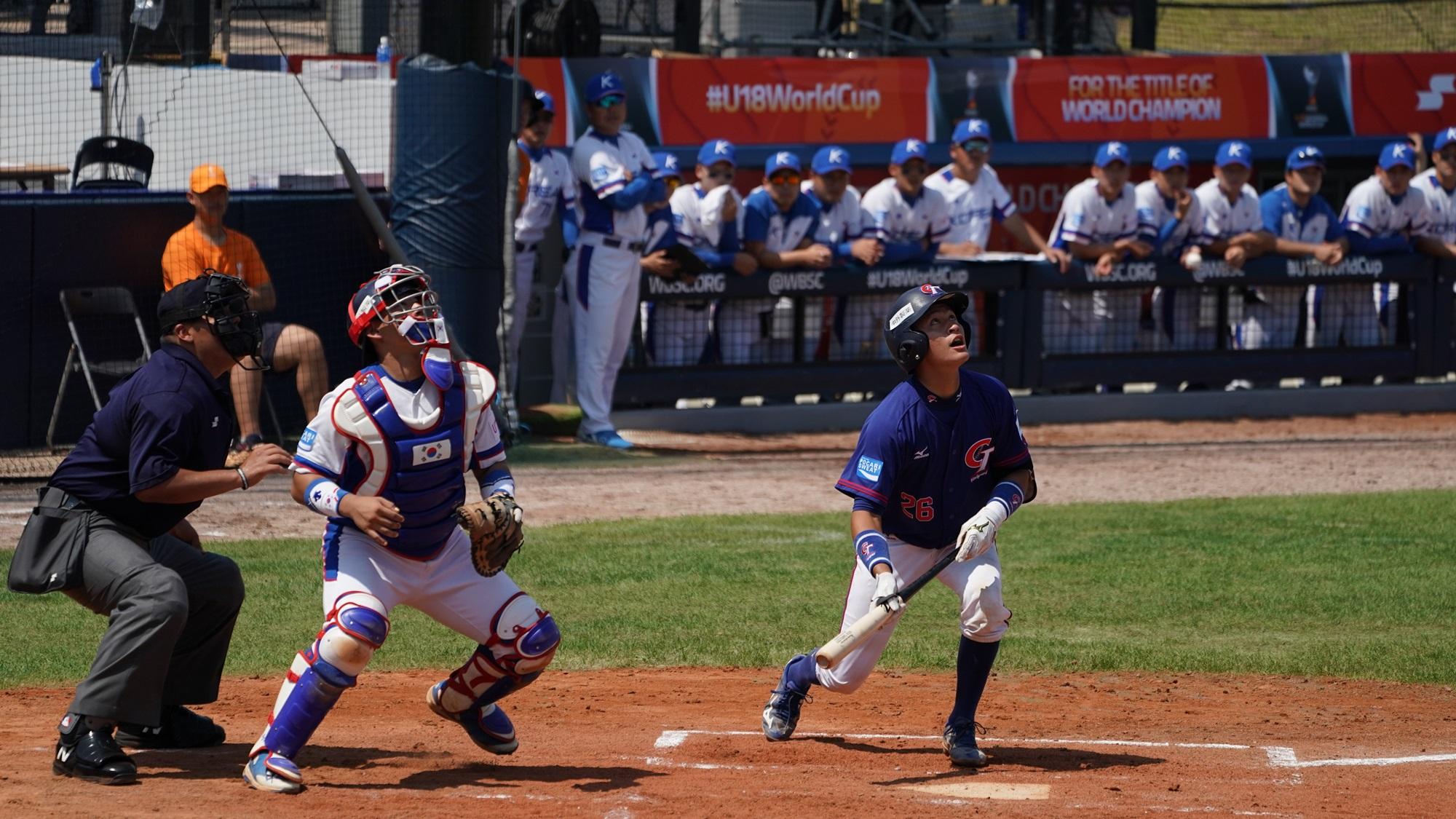 Lin Chen Hsun at bat