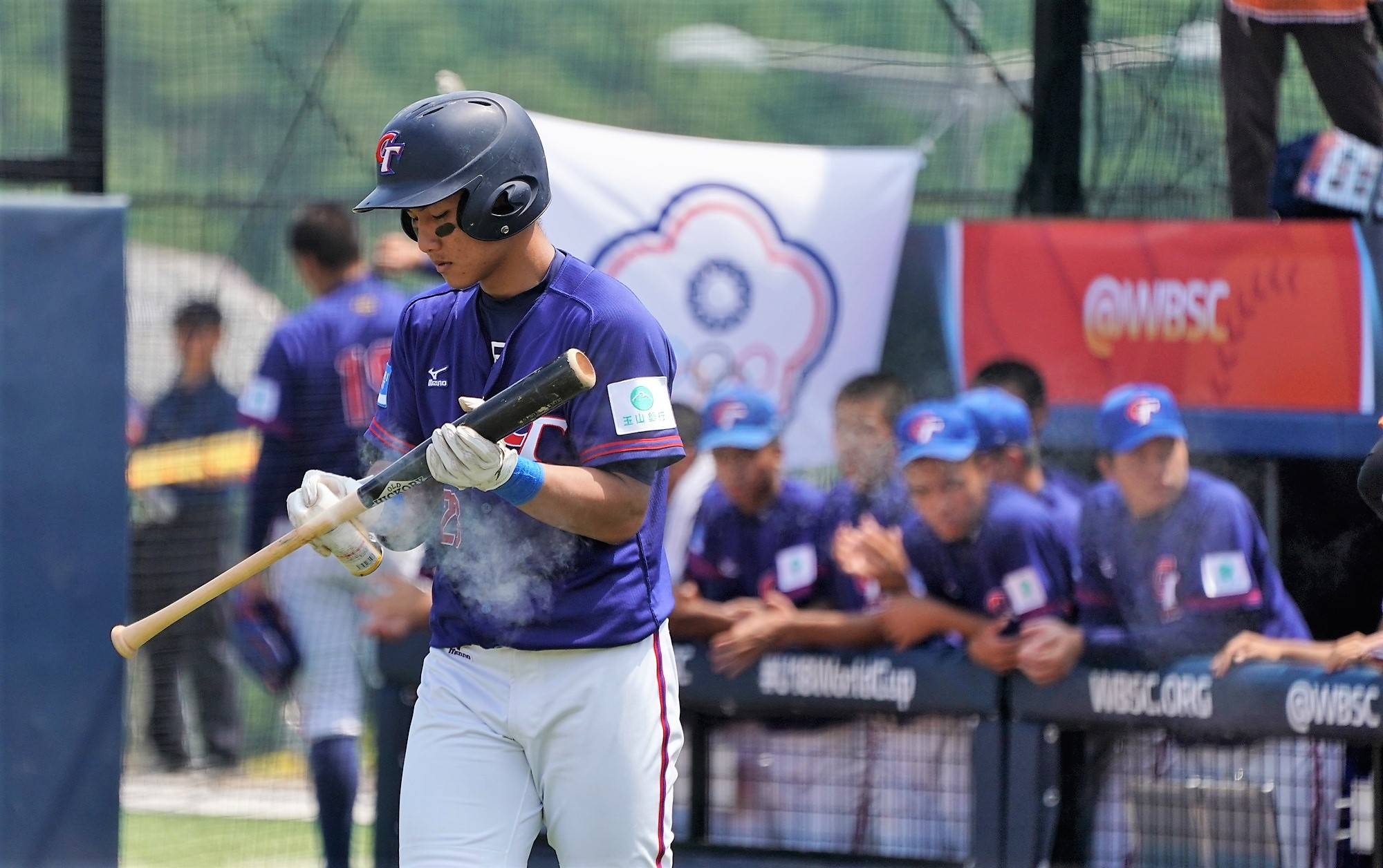 Chinese Taipei enjoyed a very good day at the plate
