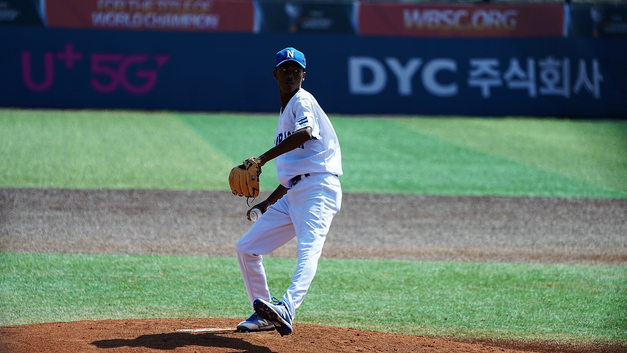 Williams Pravia earned the win for Nicaragua