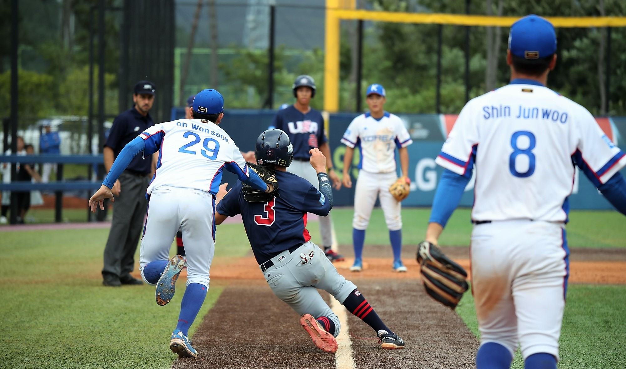 Despite losing Tolentino at home, the USA took the lead