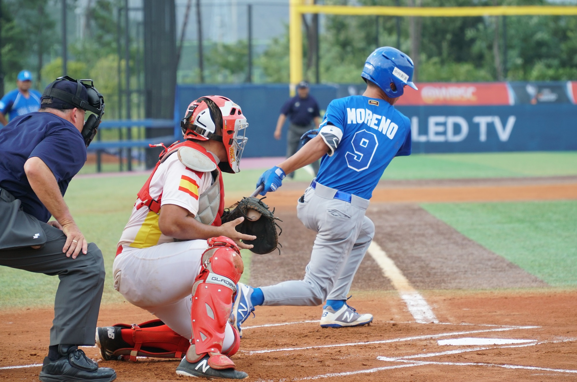 Nicaragua cut the league in the sixth