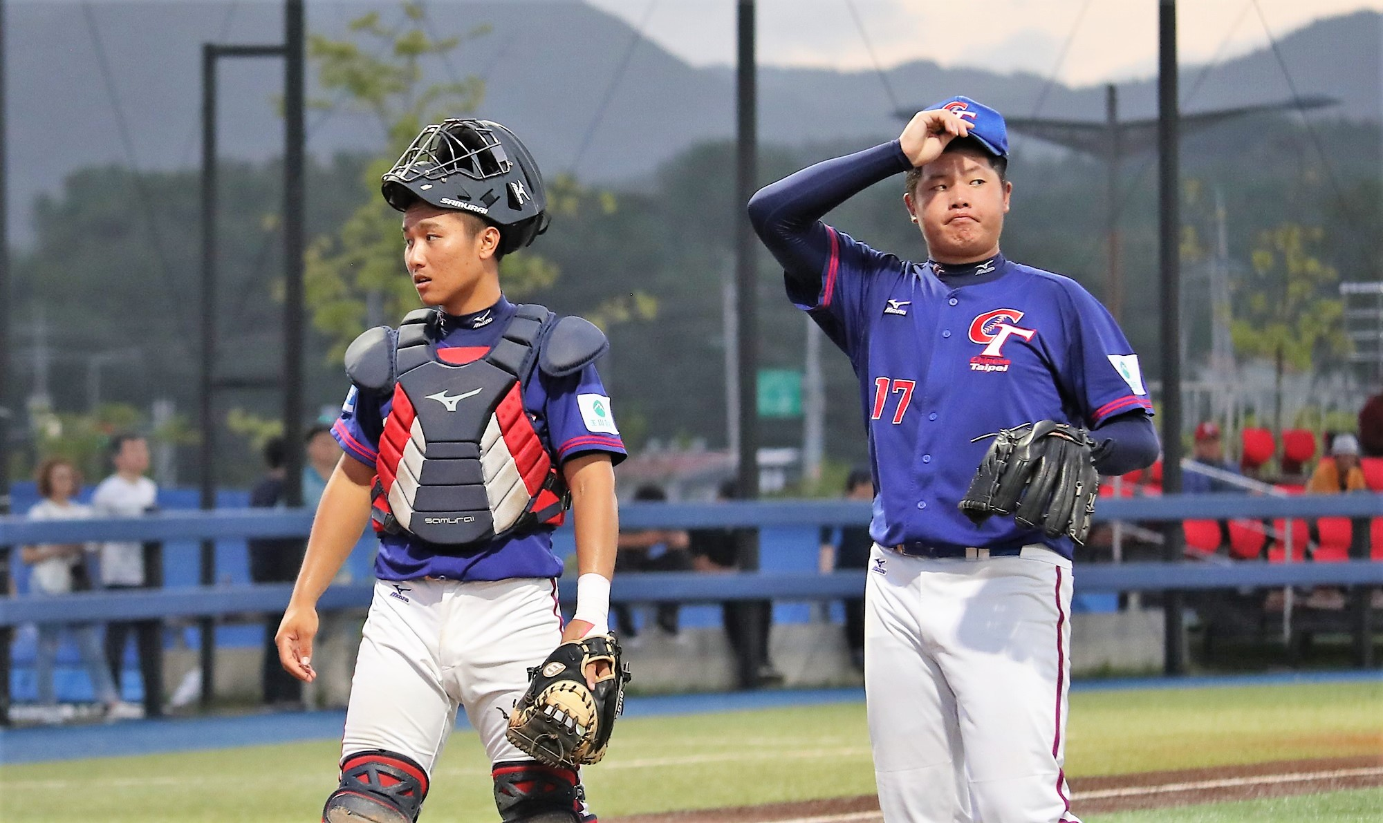 Things didn't go good for Chinese Taipei's pitching staff