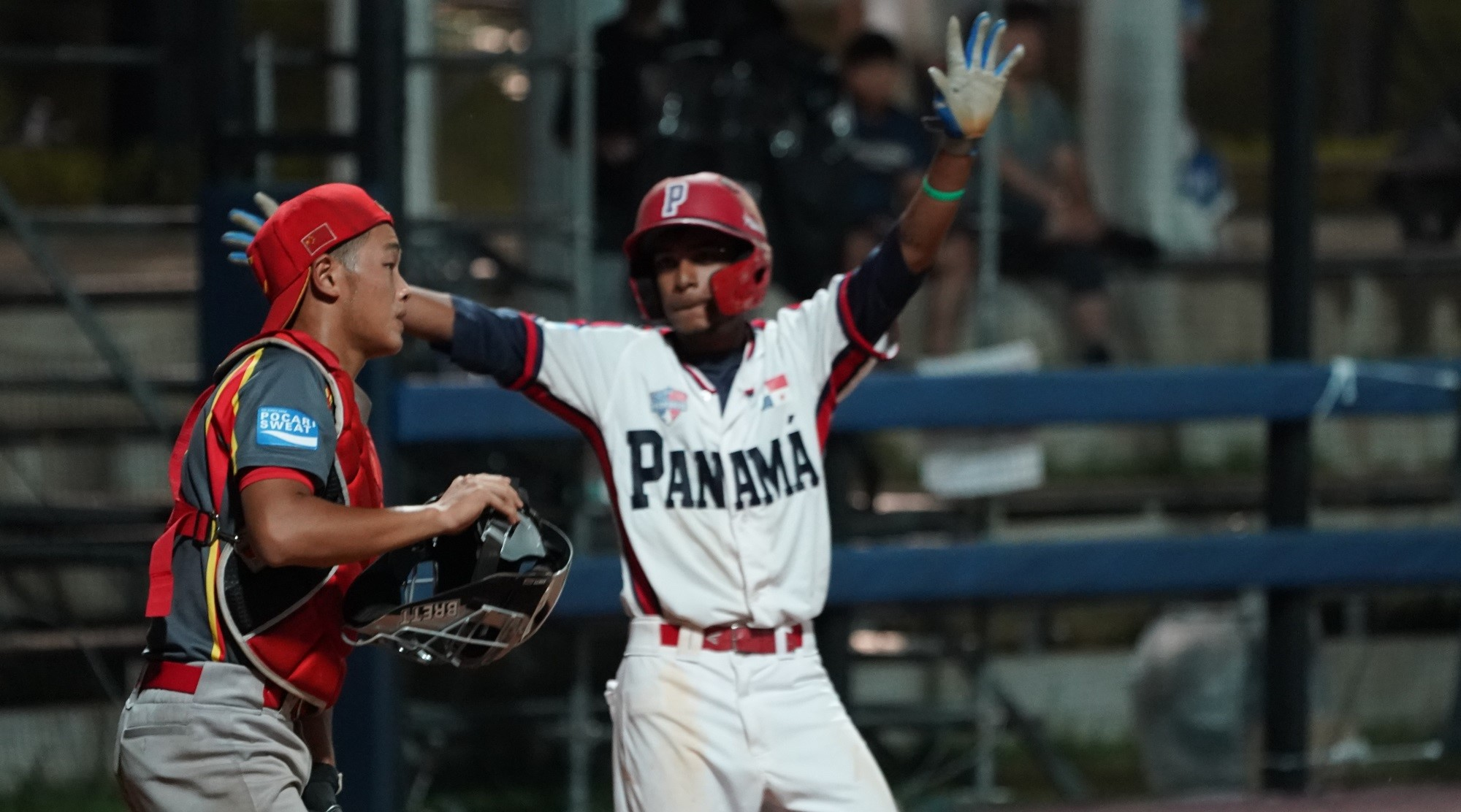 Panama needed the win to finish ahead of China
