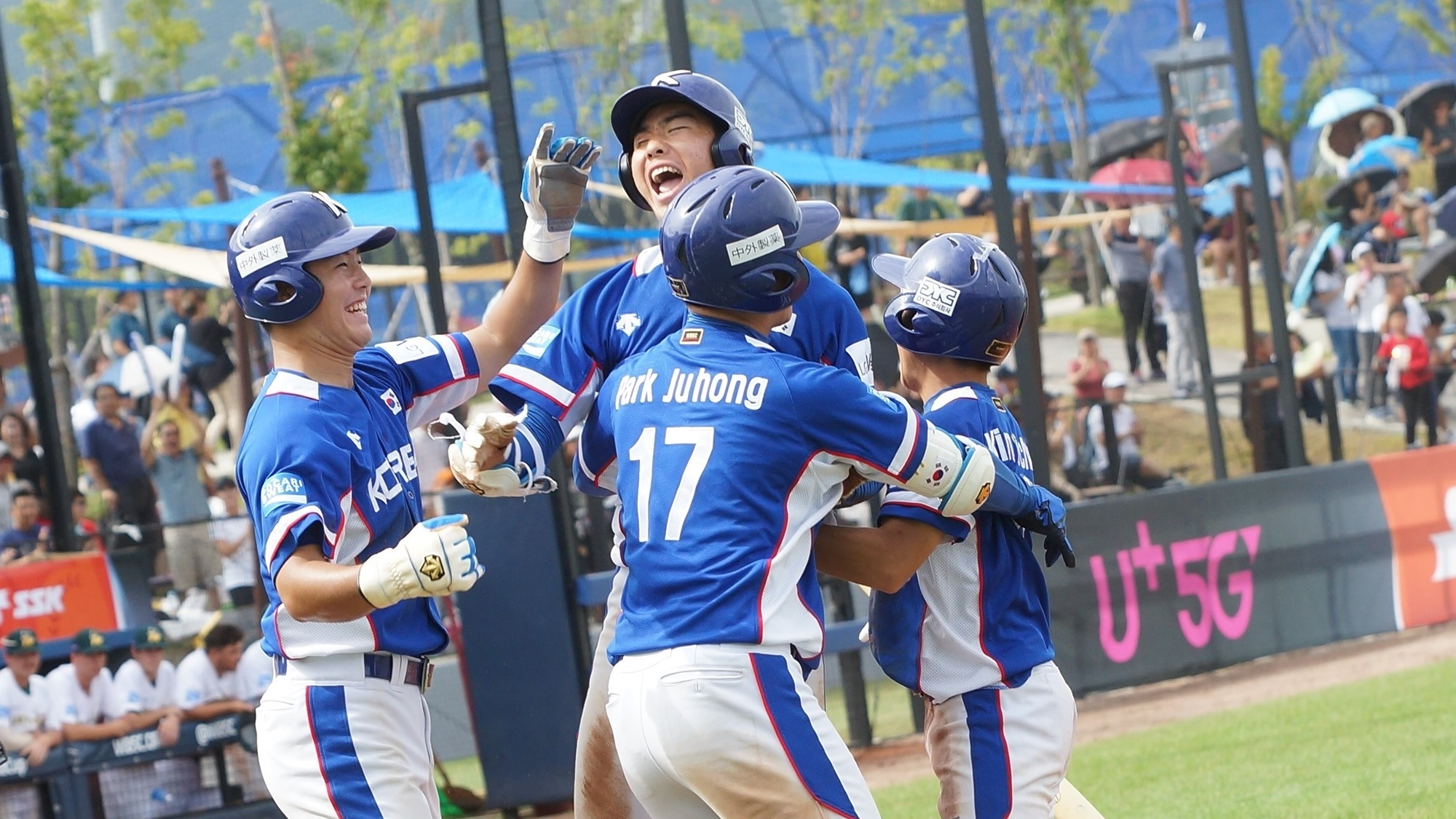 A two-run home run by Lee Juhyeong reversed the lead