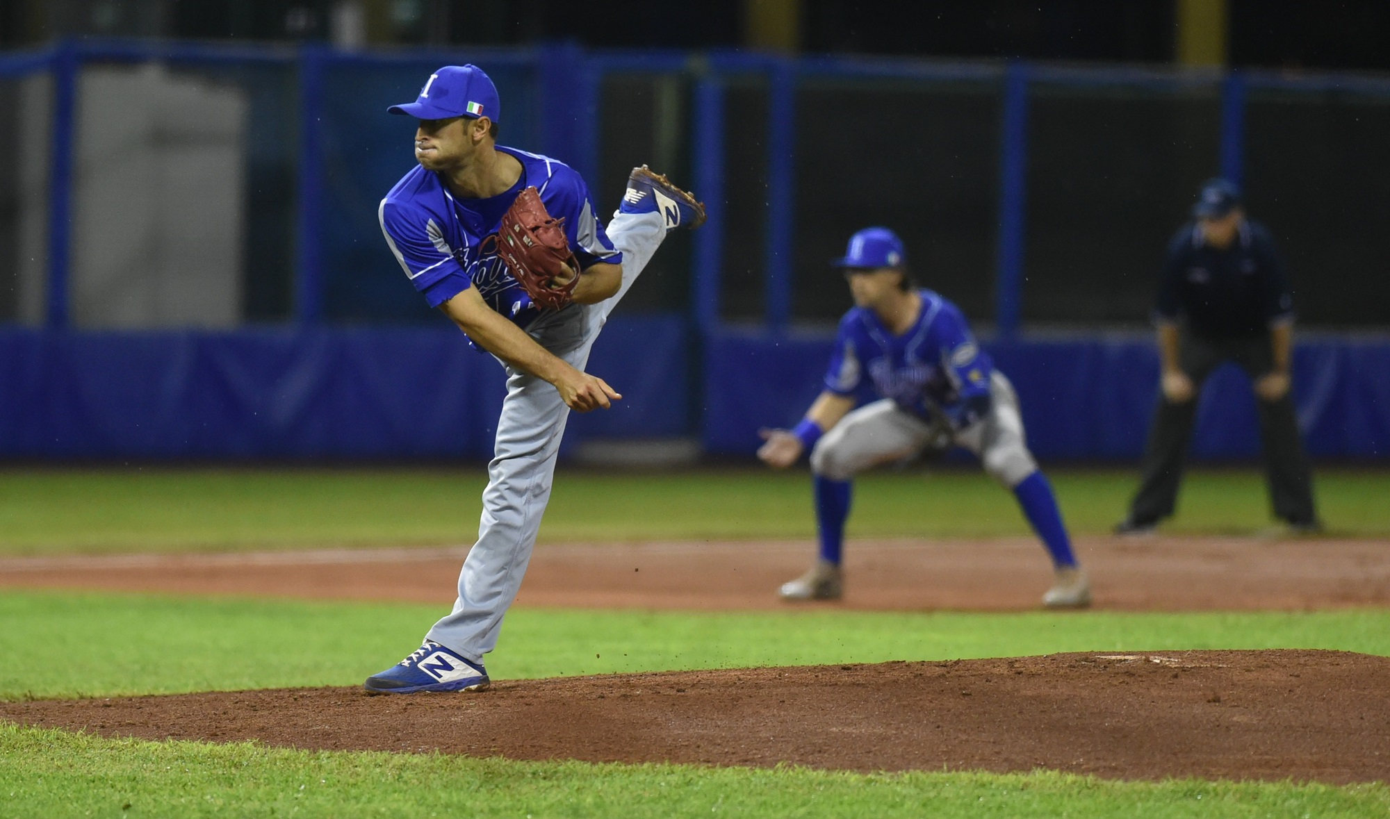 Former NPB starter Alessandro Maestri struggled early in the game