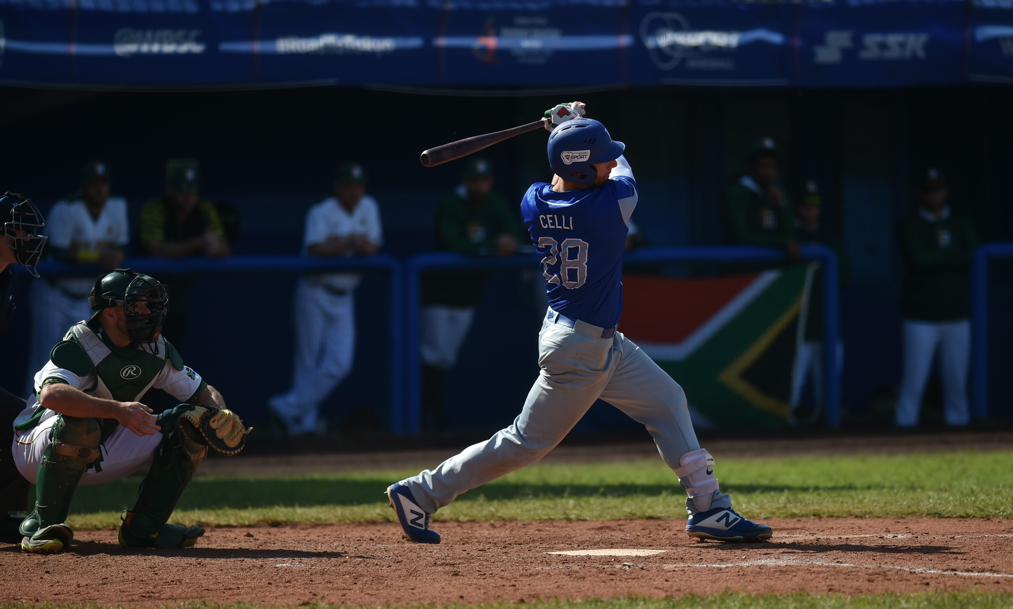 Federico Celli hit a home run