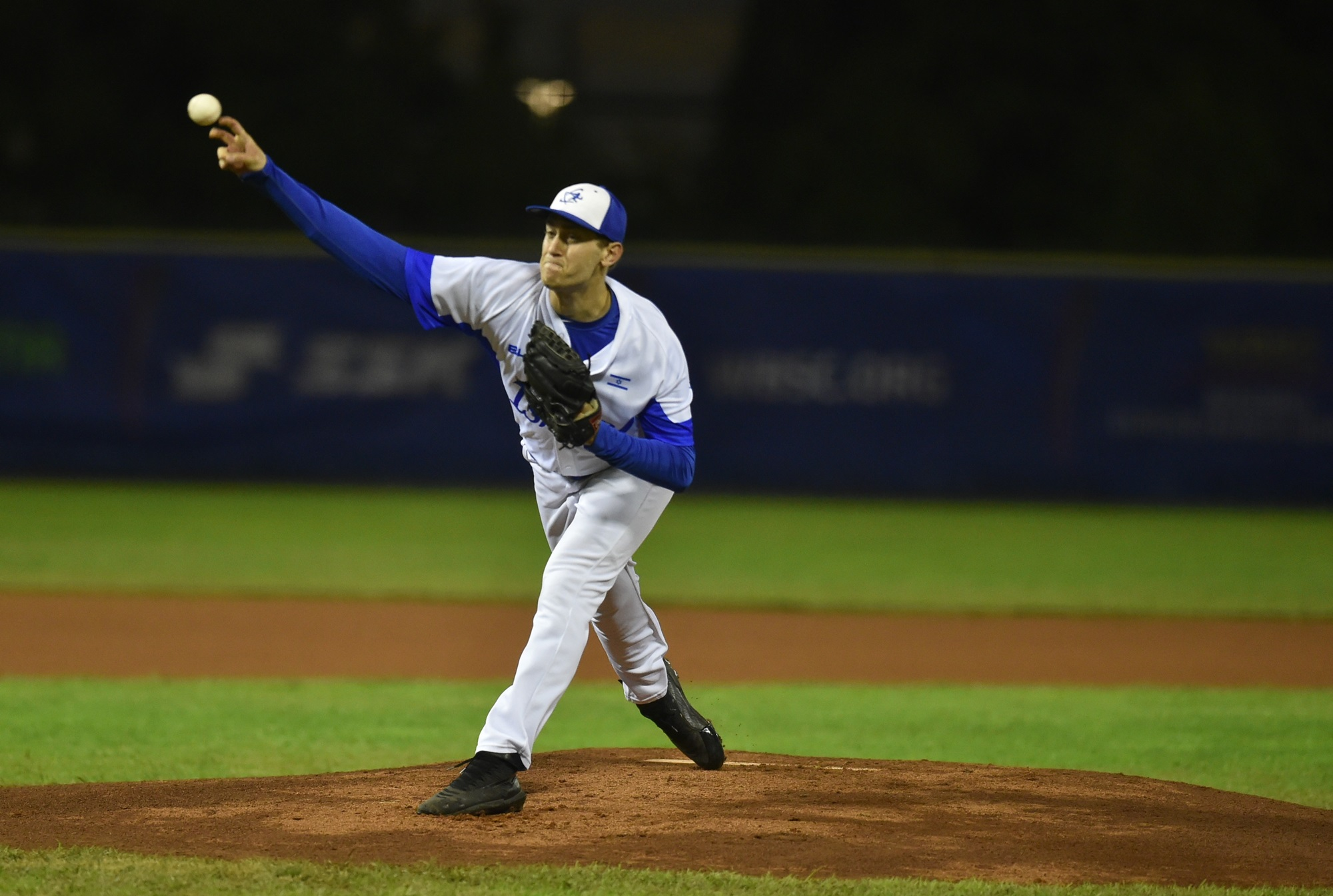 Former Major Leaguer Jon Moscot went four innings for Israel
