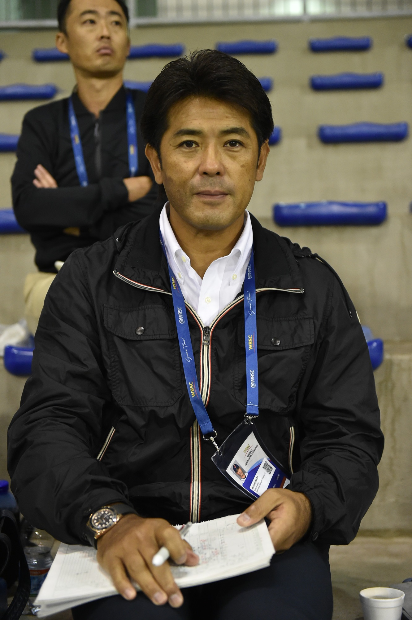 Atsunori Inaba, Samurai Japan manager, scouted Israel and The Netherlands in Parma