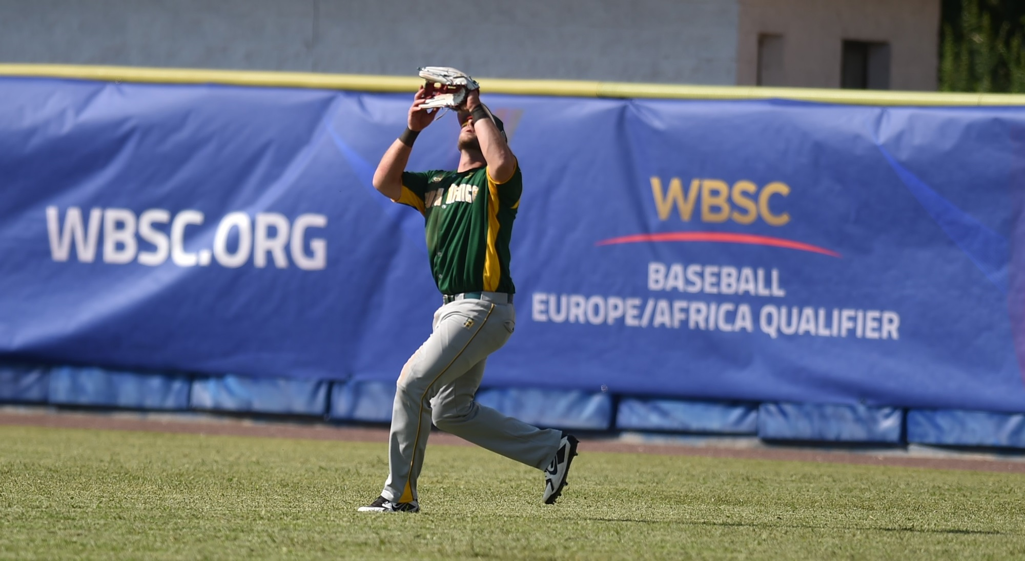 The Czechs put two runners in scoring position advancing with two outs on a fly ball in the bottom of the fourth