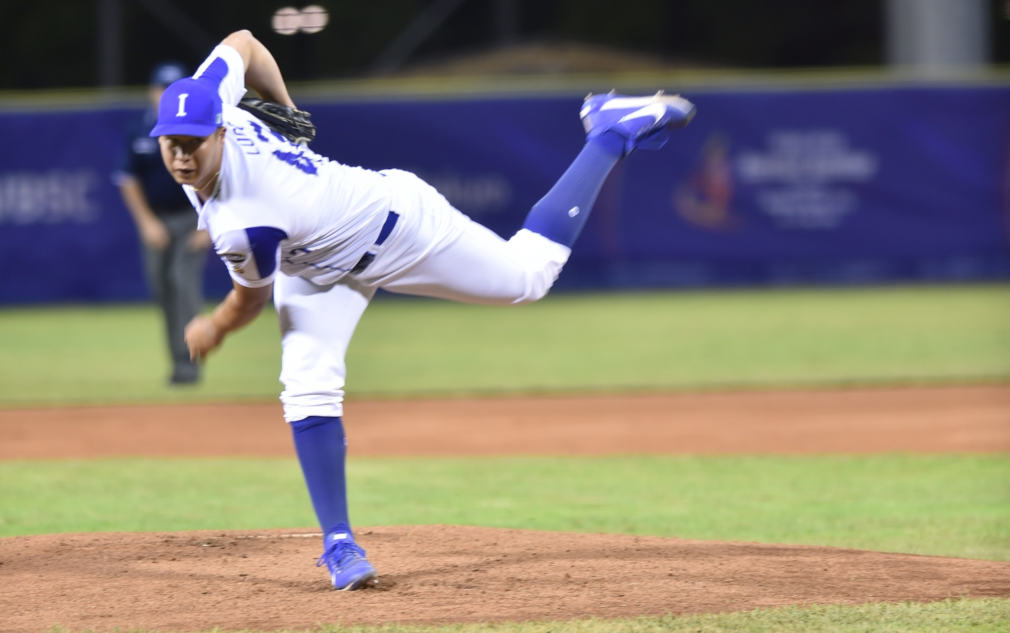 Luis Lugo pitched seven strong innings for Italy