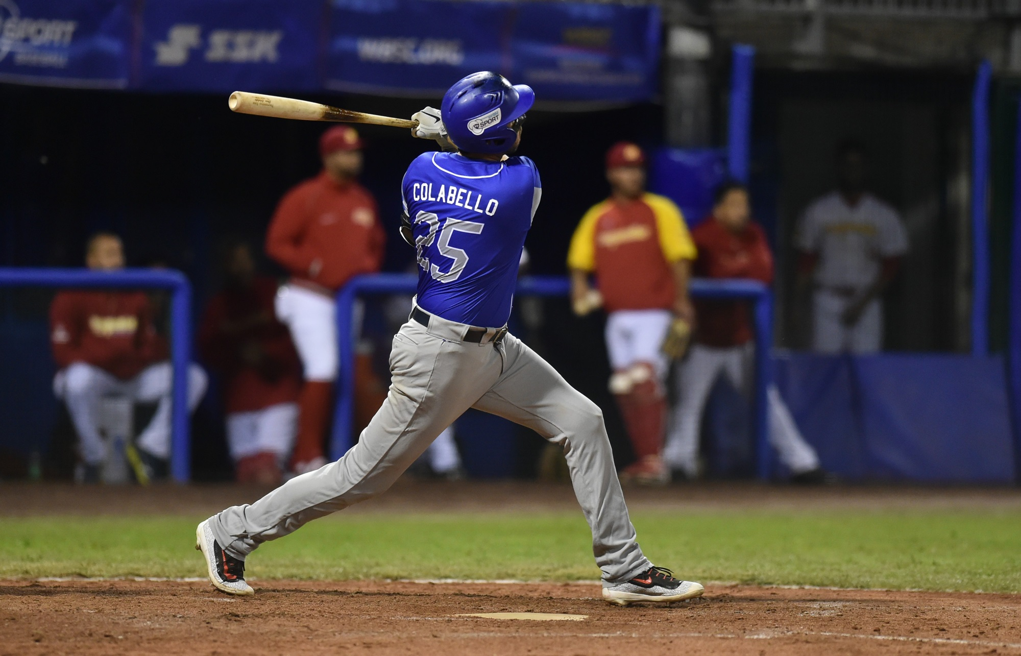 Chris Colabello homered for Italy