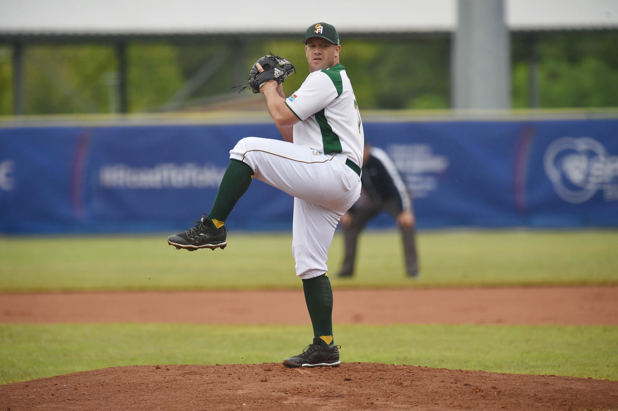 Control issue by South Africa's Jared Elario allowed Israel to take an early lead