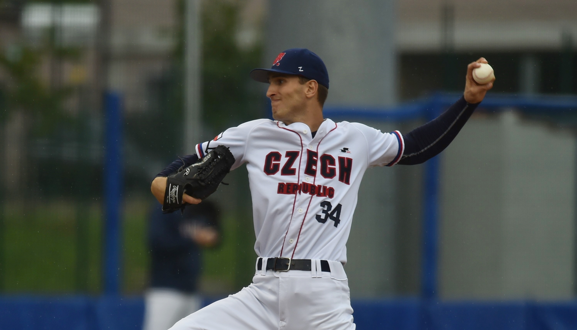 Jn Novak pitched six innings for the Czech Republic
