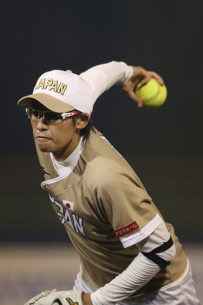 Yukiko Ueno pitched a no hitter for Japan