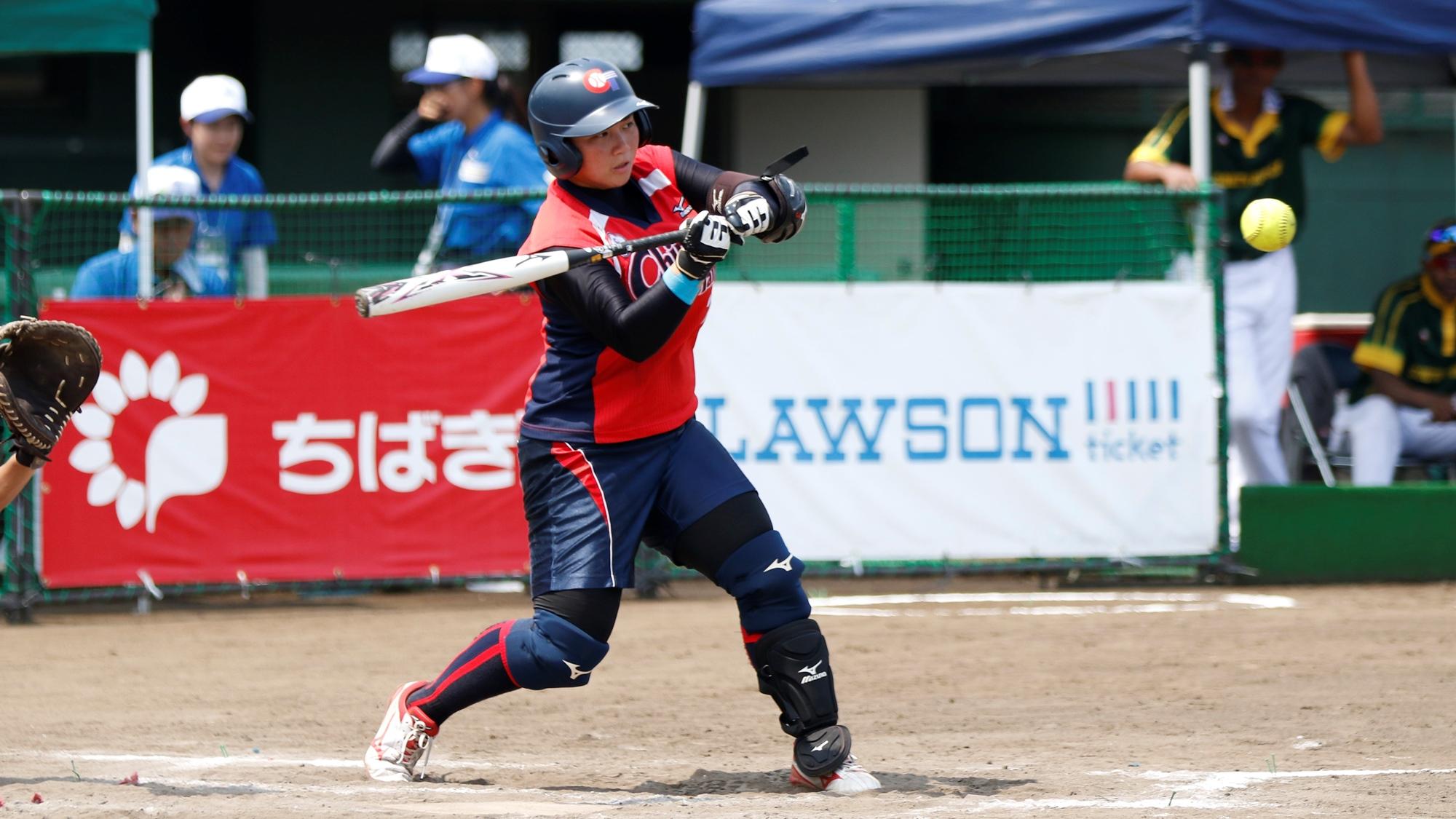 Su Yi Hsuan got one of the 3 home runs