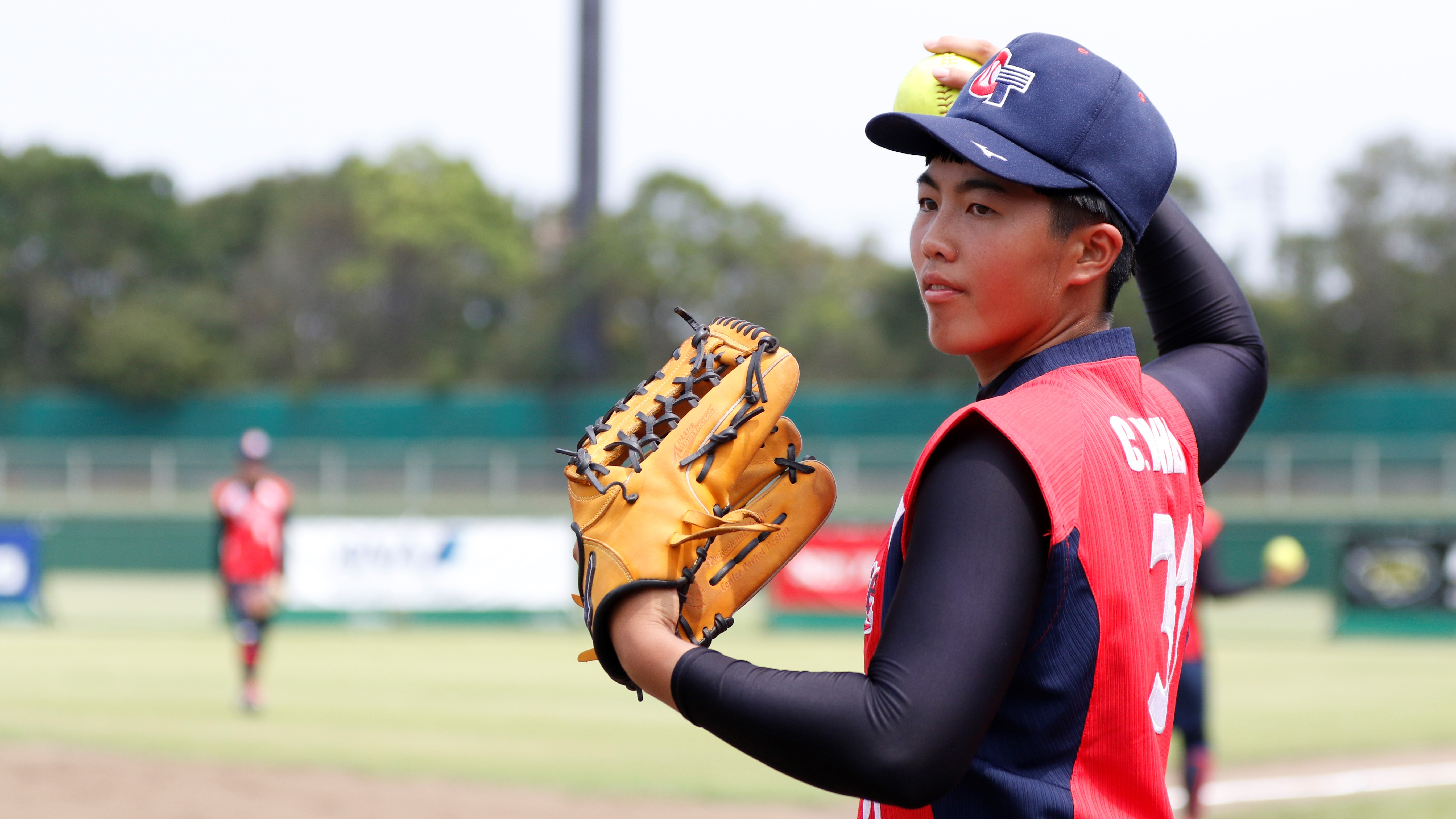 It was an easy debut for Chinese Taipei