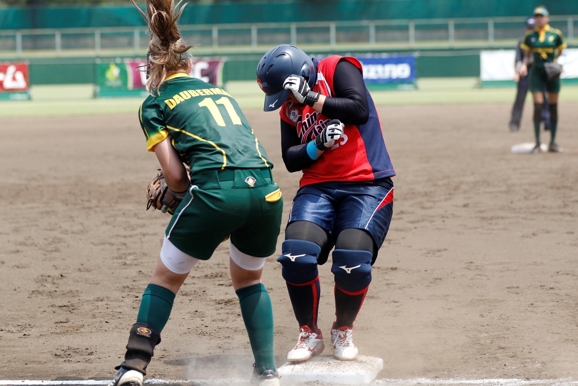 Daubermann of South Africa fields third