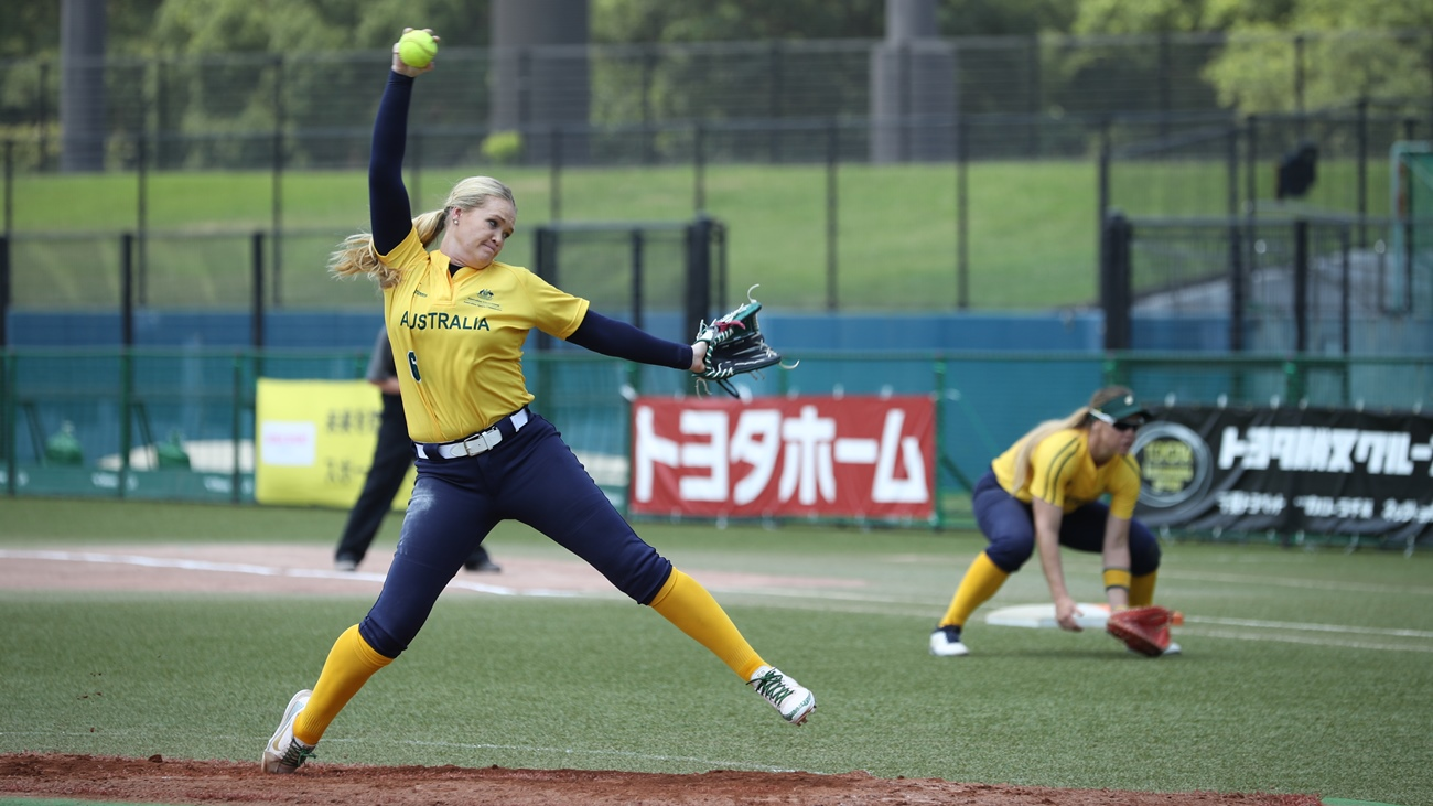Ellen Roberts saved the game in three innings of work