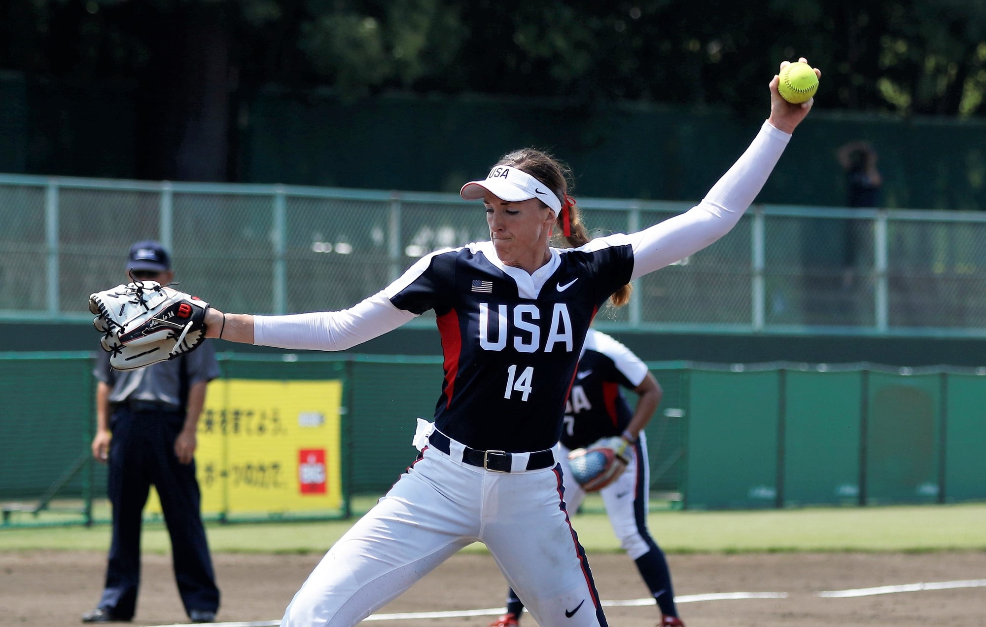 USA star pitcher Monica Abbott
