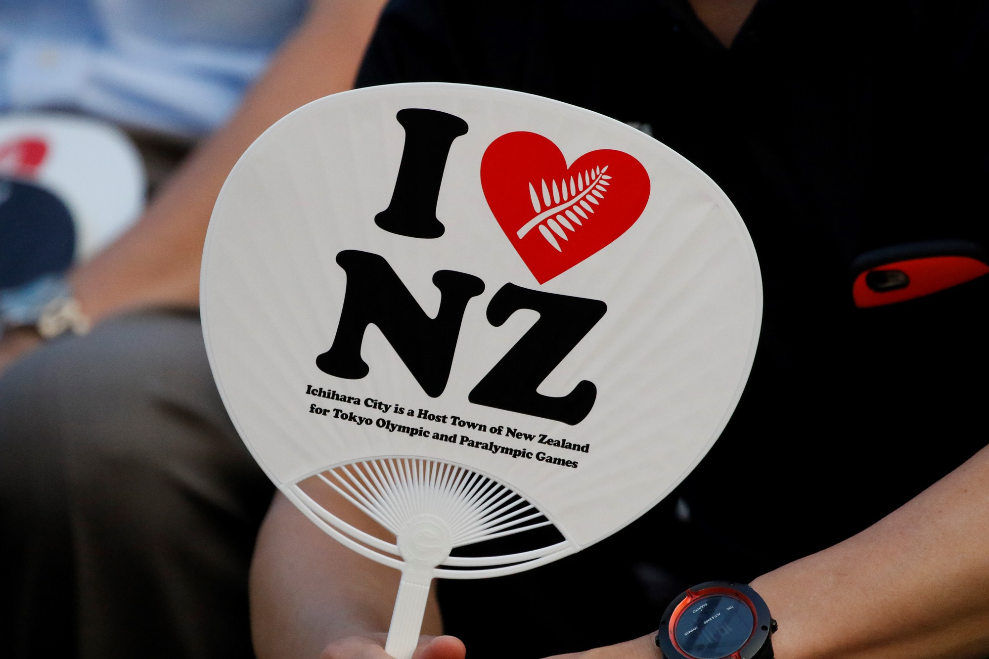 Kiwis fans display their love