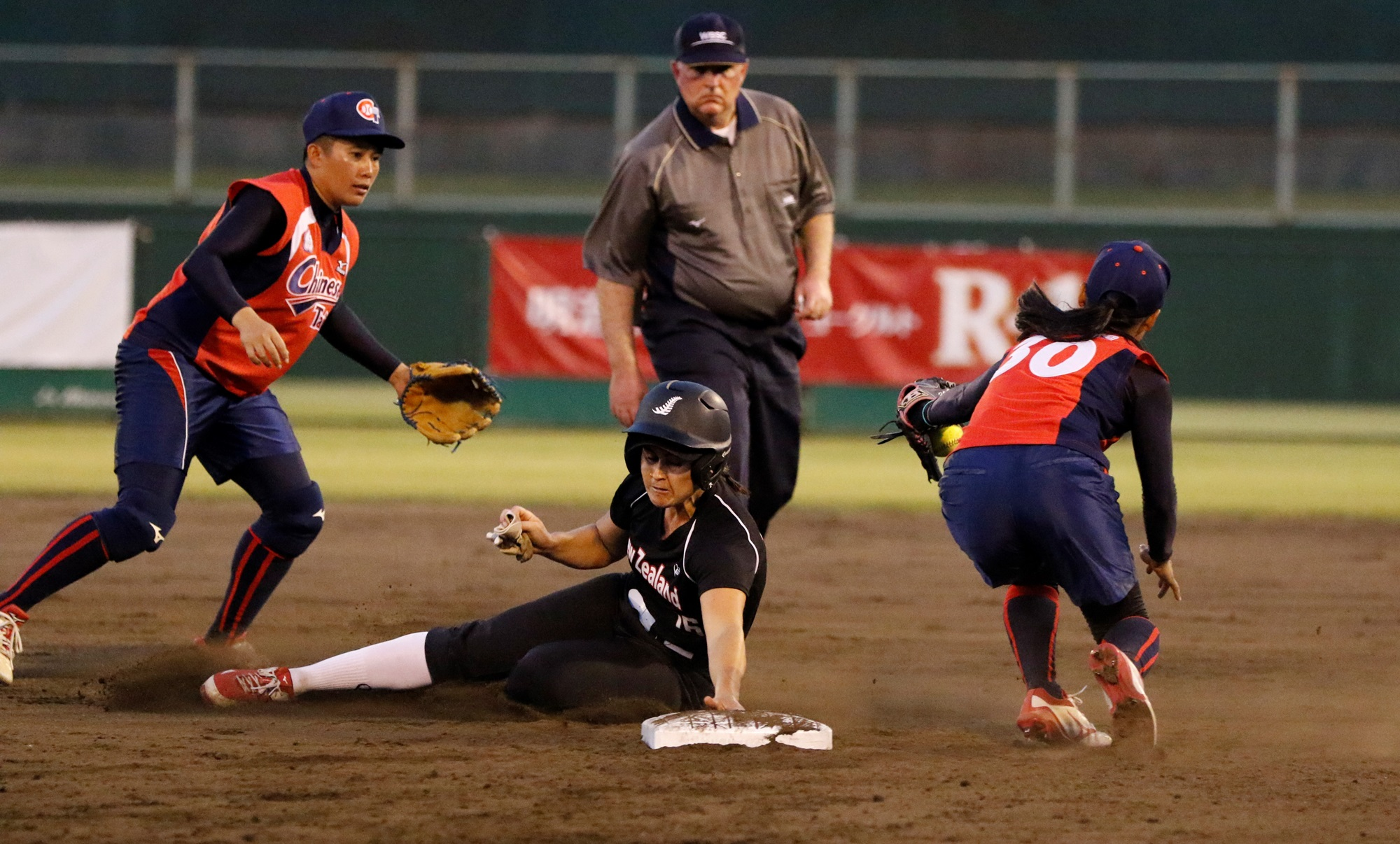 Chinese Taipei resisted a late comeback attempt