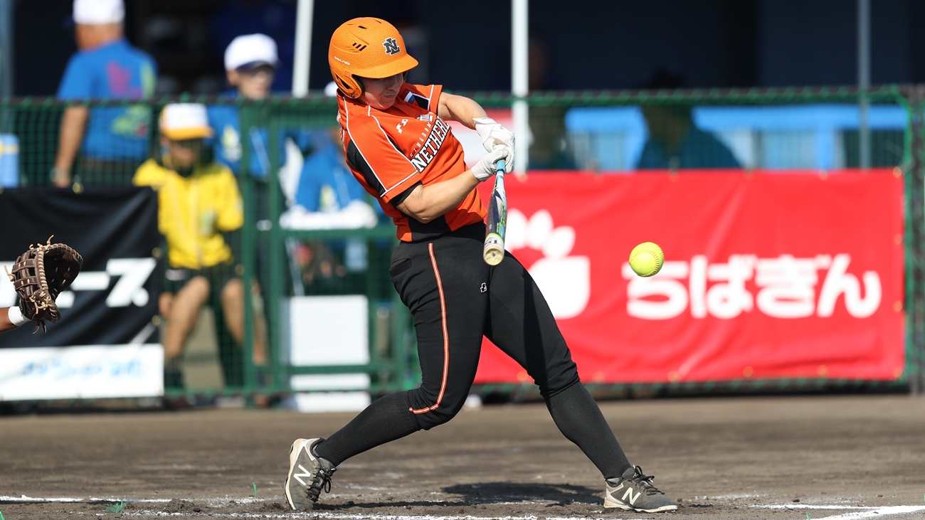 Netherlands lost a tight ball game in the opening game of the Softball World Championship