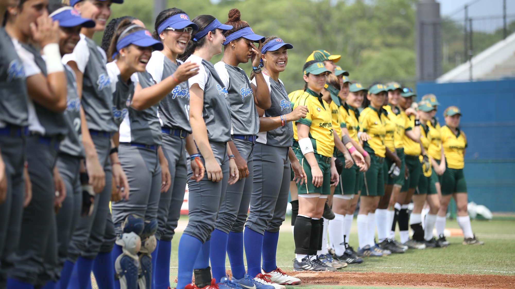 Puerto Rico faced South Africa at Zett A Ballpark