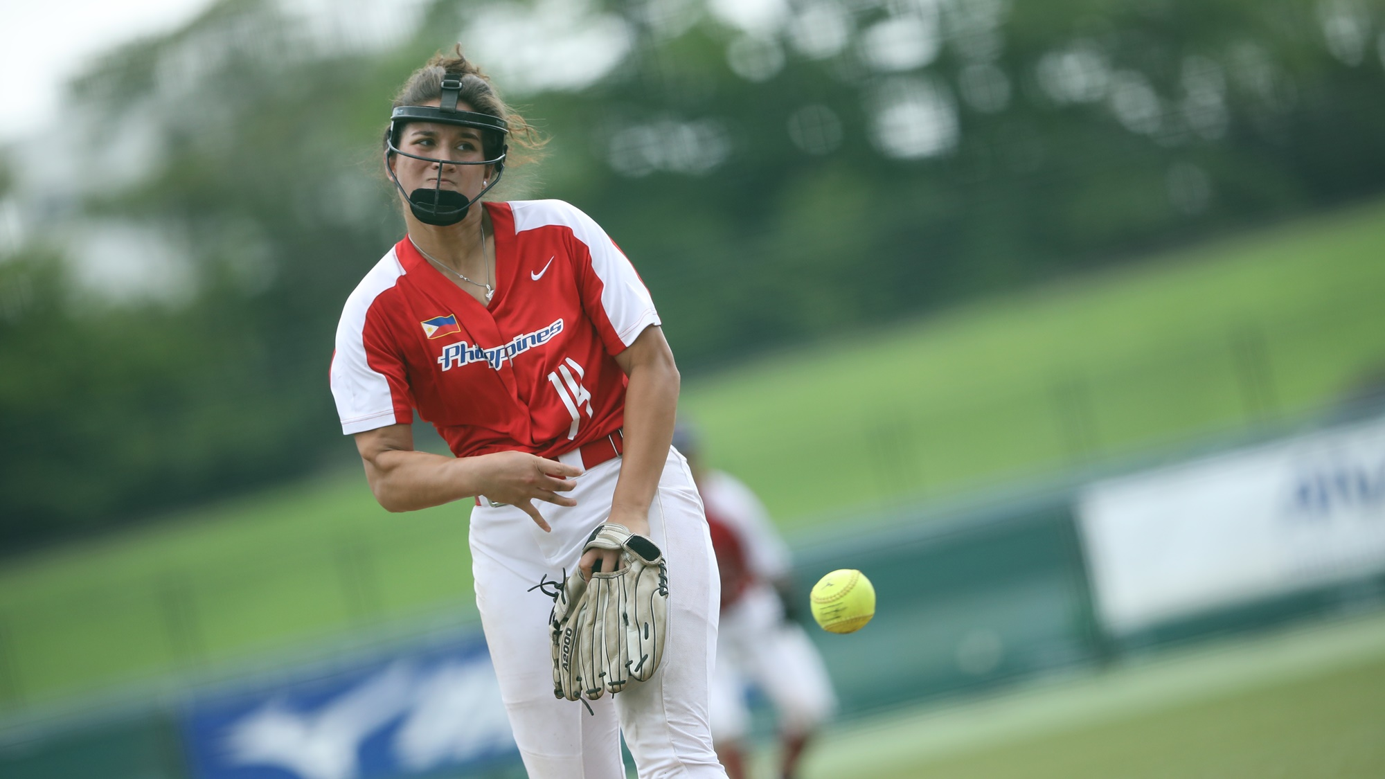 Reliever Sierra Lange didn't allow any run in two innings of work