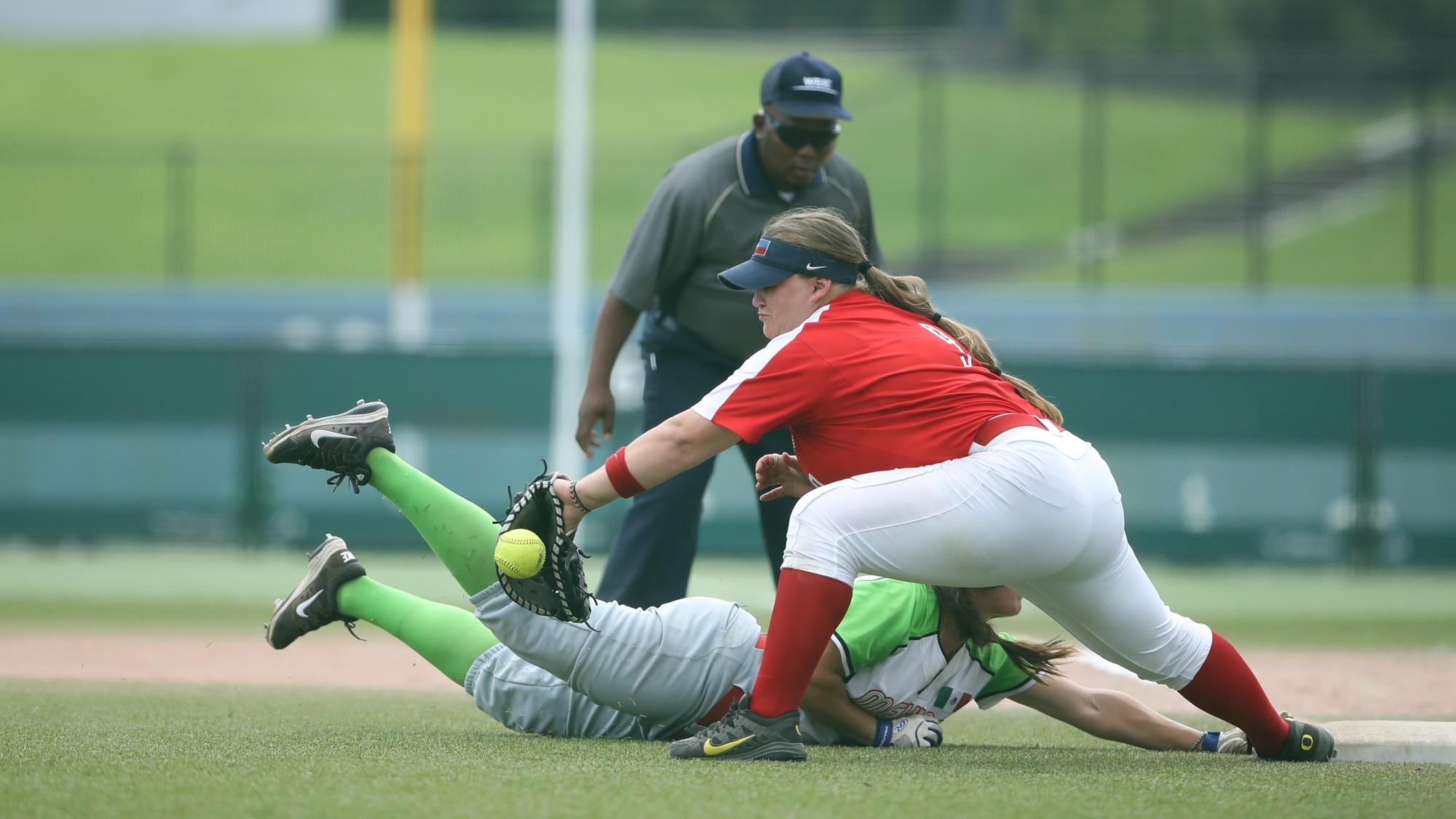 Close play at first base