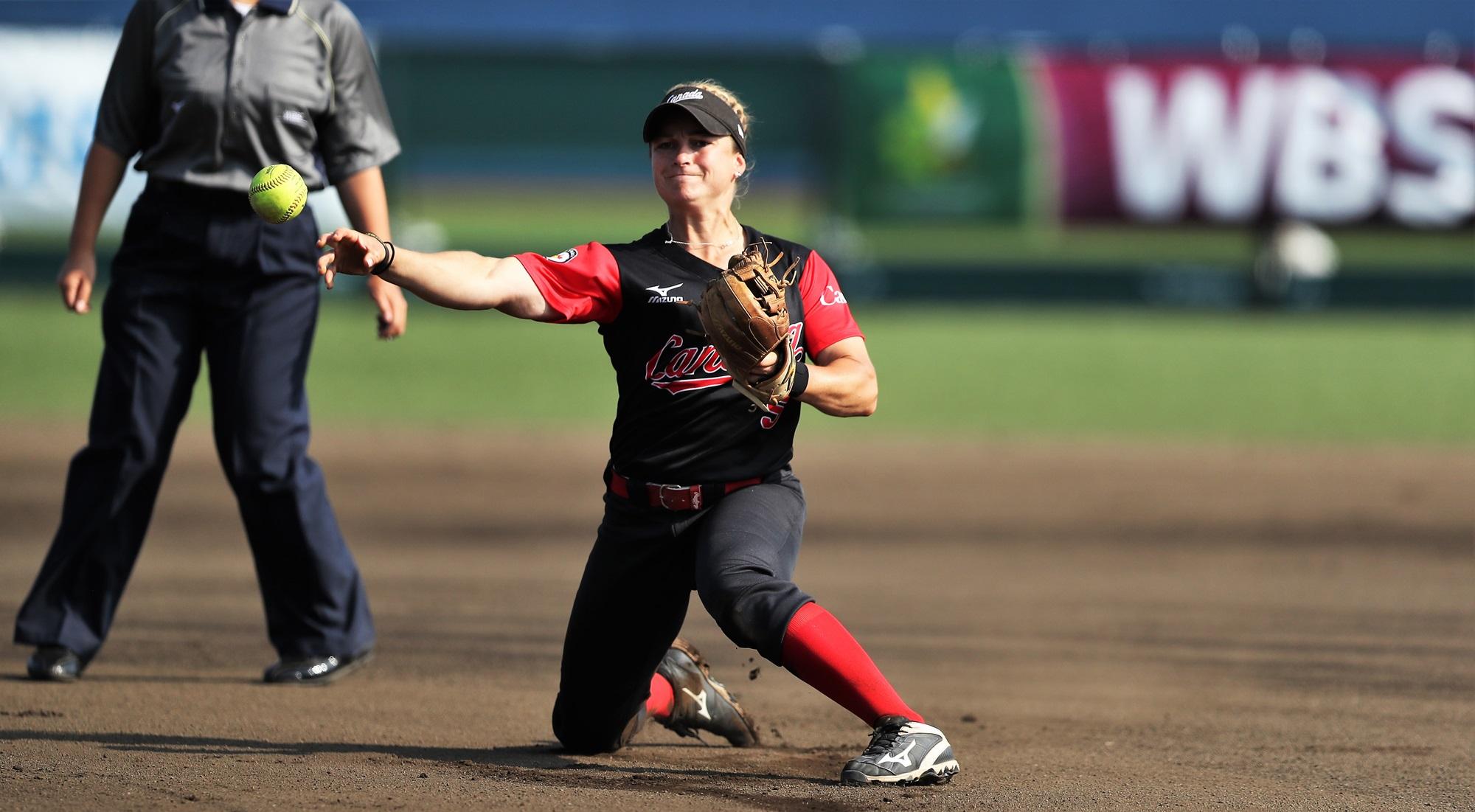 Joann Lye fielding