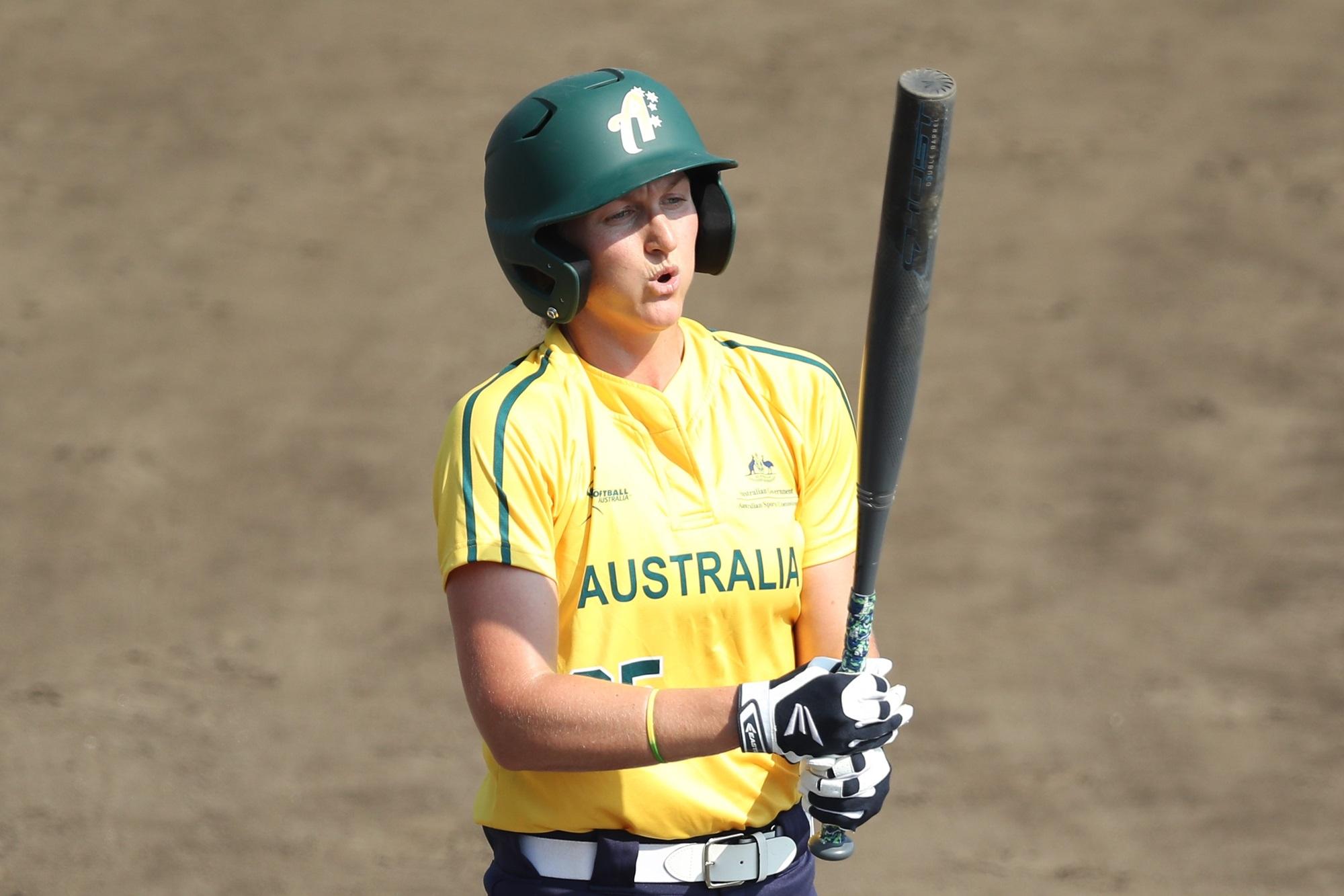 Chelsea Forkin of Australia