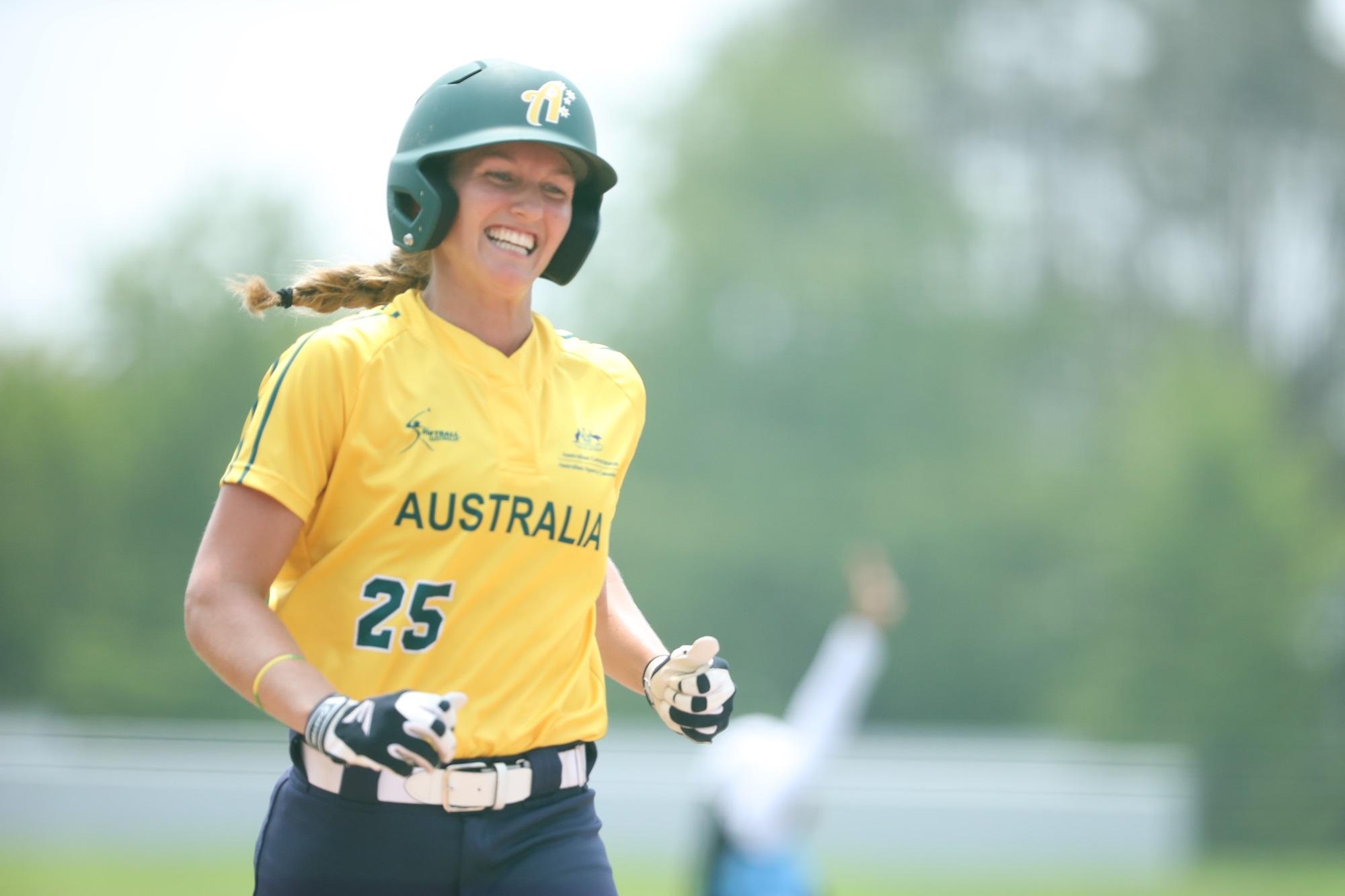 Australia's Chelsea Forkin