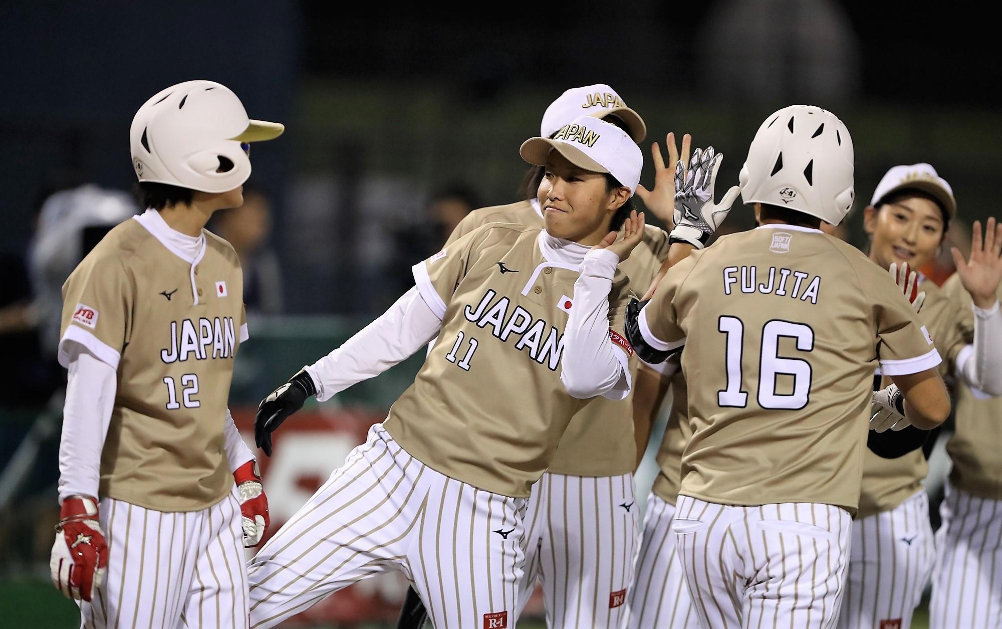 Japan has won 5 straight now