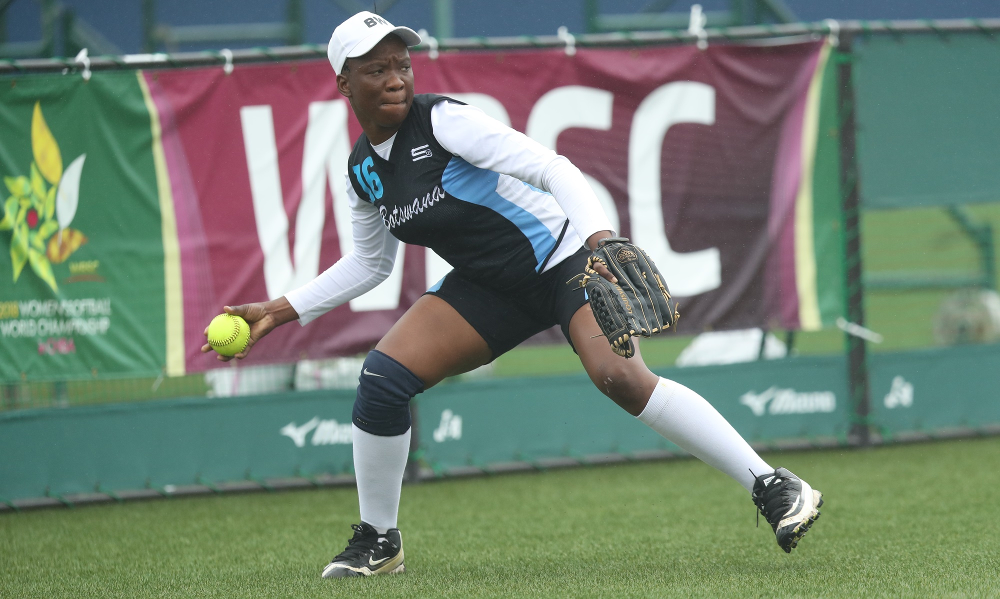 Othusitse Molatheng fielding for Botswana