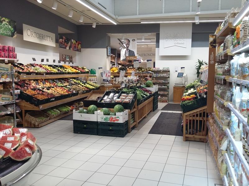 Übersicht der Obst und Gemüse Abteilung