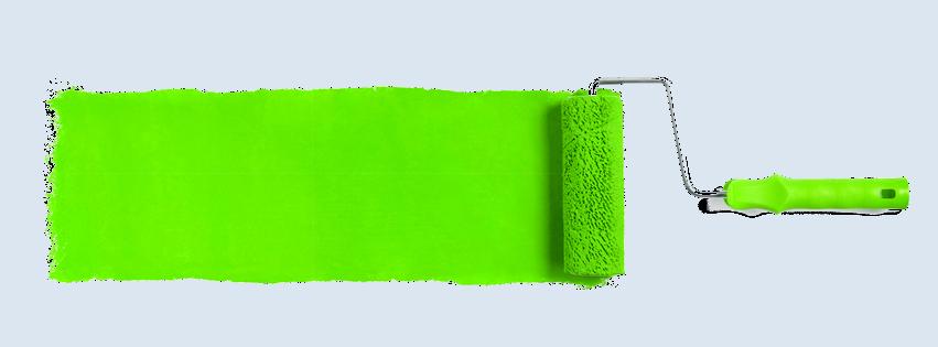 ein Testpanel für Malerbetriebe