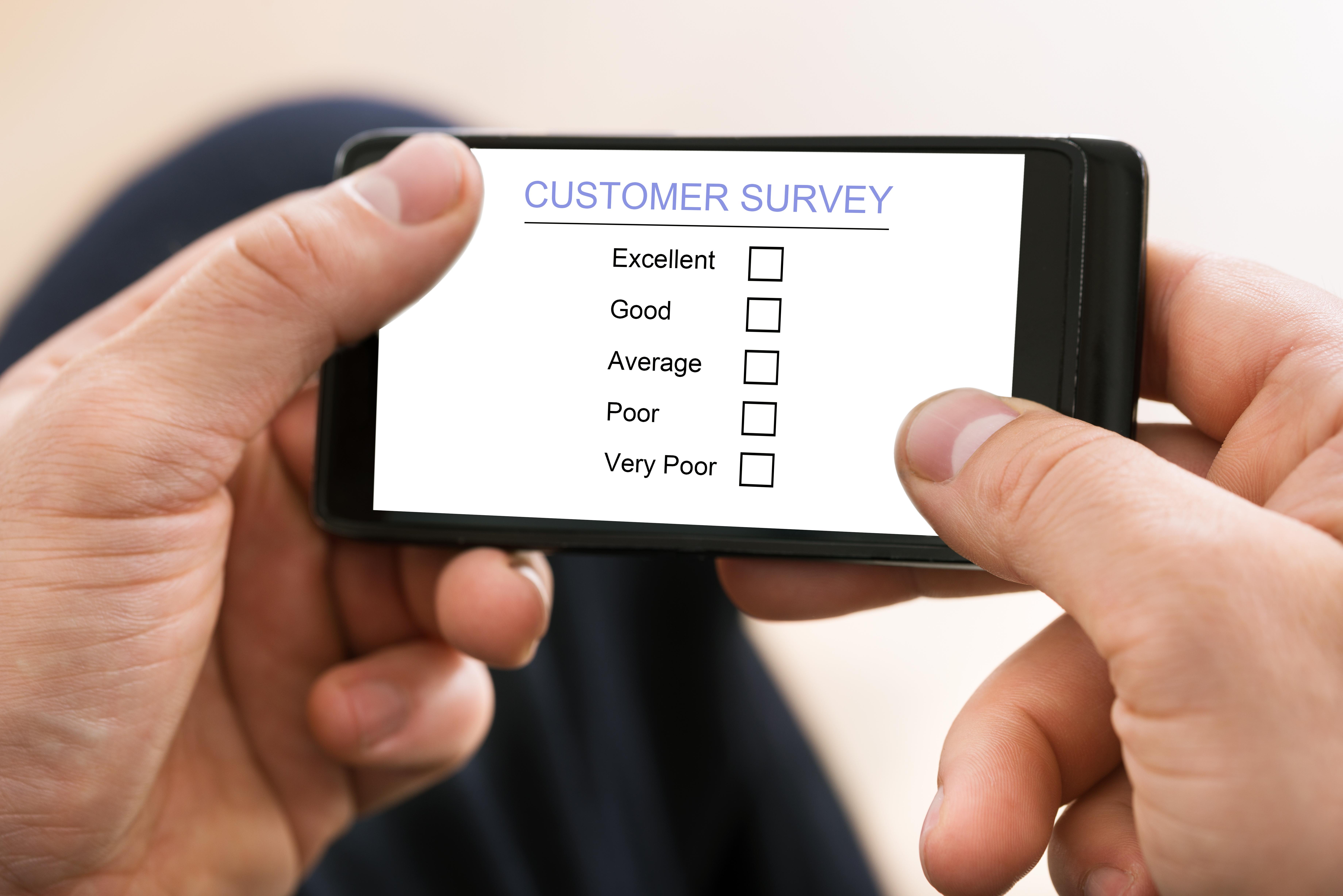 Umfragen per App