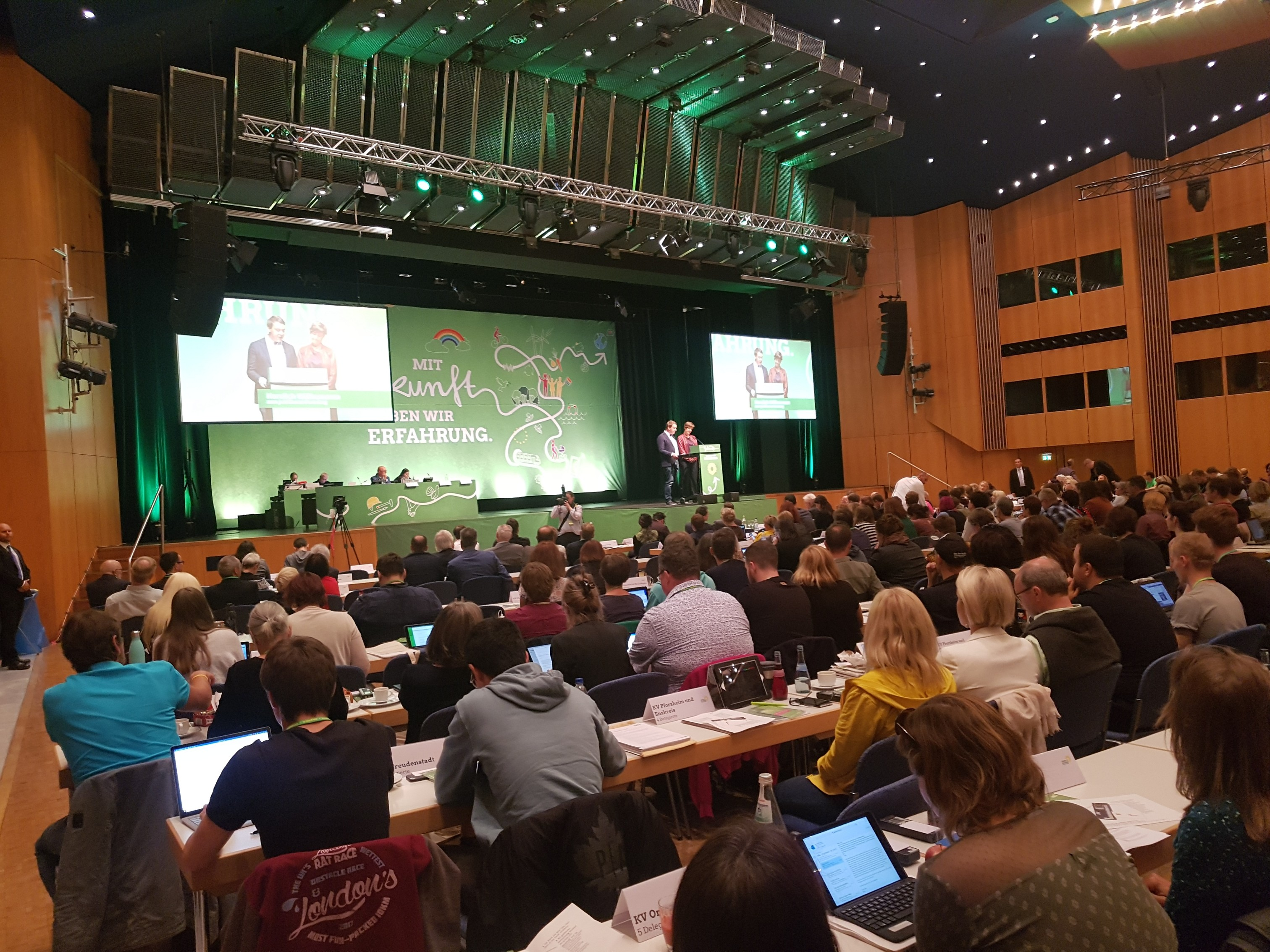 Landesparteitag der Grünen