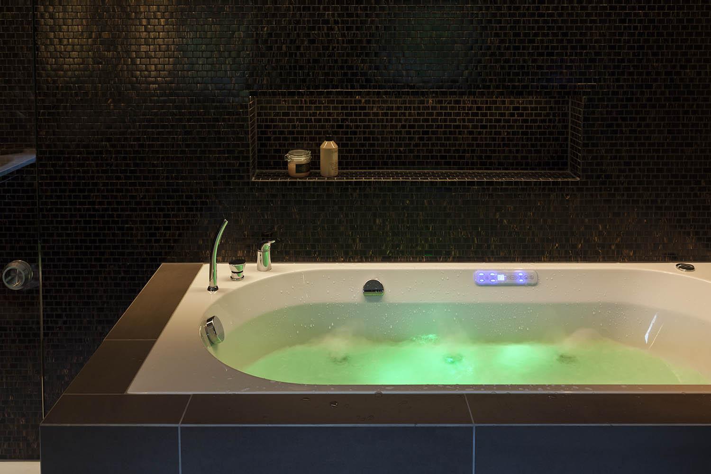 badekar, bad, baderom, interiør