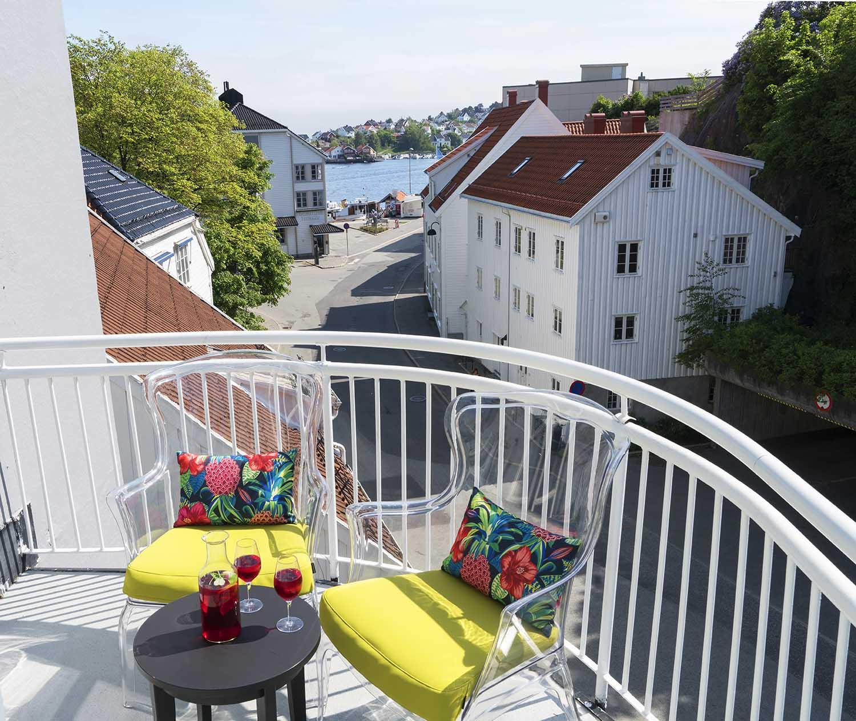 stoler, natur, Arendal, veranda, sommer