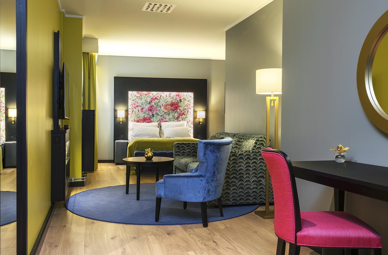 hotellrom, soverom, interiør, interiørarkitektur