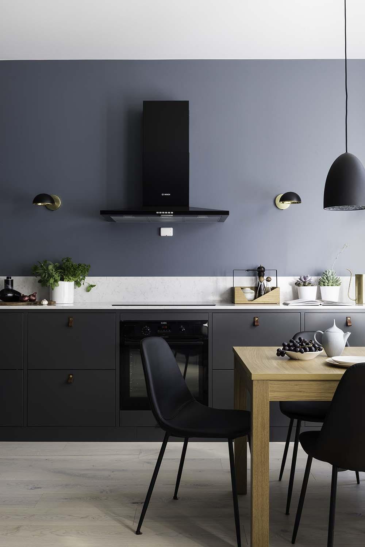 kjøkken, ramsoskar, interiør